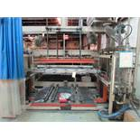 AAA 68 in. x 72 in. Vacuum Forming Machine, with Rear Mounted Oven, Vacuum, Operator Pedestal (
