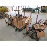 (Lot) (3) Carts w/ Assorted Hand Tools