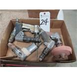 (Lot) (7) Pneumatic Drills