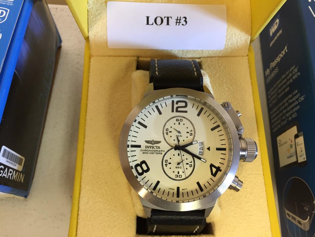 Lot 3 - Invicta Men's Corduba Oversized Watch