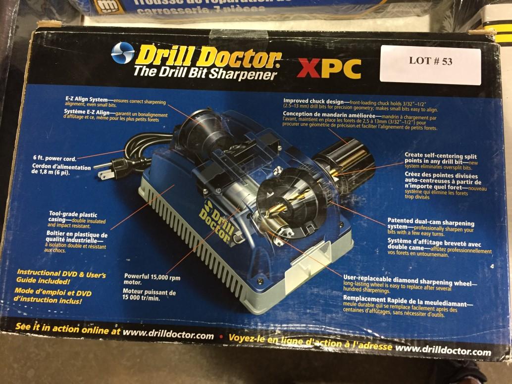 Lot 53 - Drill Doctor XPC Drill Bit Sharpener
