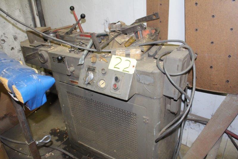 Lot 22 - Di-Acro Hydra-Power Hydraulic Bending Machine, S/N 1598