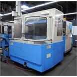 "CNC HORIZONTAL MACHINING CENTER, MAZAK MDL. H500/40, new 1990, Mazatrol M32 CNC control, 19.7"" sq."