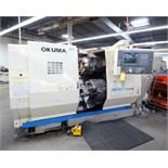"5-AXIS CNC LATHE, OKUMA IMPACT MDL. LU15-M, OPS 700L CNC control, C-axis spdl., 10.2"" X & 25.2"" Z-"