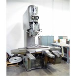 "VERTICAL JIG BORER, BURKHARDT, 20-1/8"" x 36-1/2"" table, 12"" quill travel, Mitutoyo 2-axis D.R.O.,"