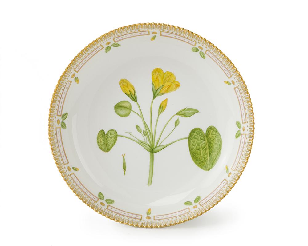 "Lot 11 - A Royal Copenhagen ""Flora Danica"" pedestal bowl"