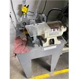 """Jet 8"""" Bench Grinder w/Stand and Contents"""