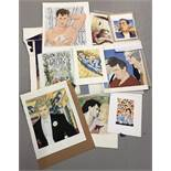 Collection of 16 original artworks from books published by GMP Publishers (Gay Men's Press).