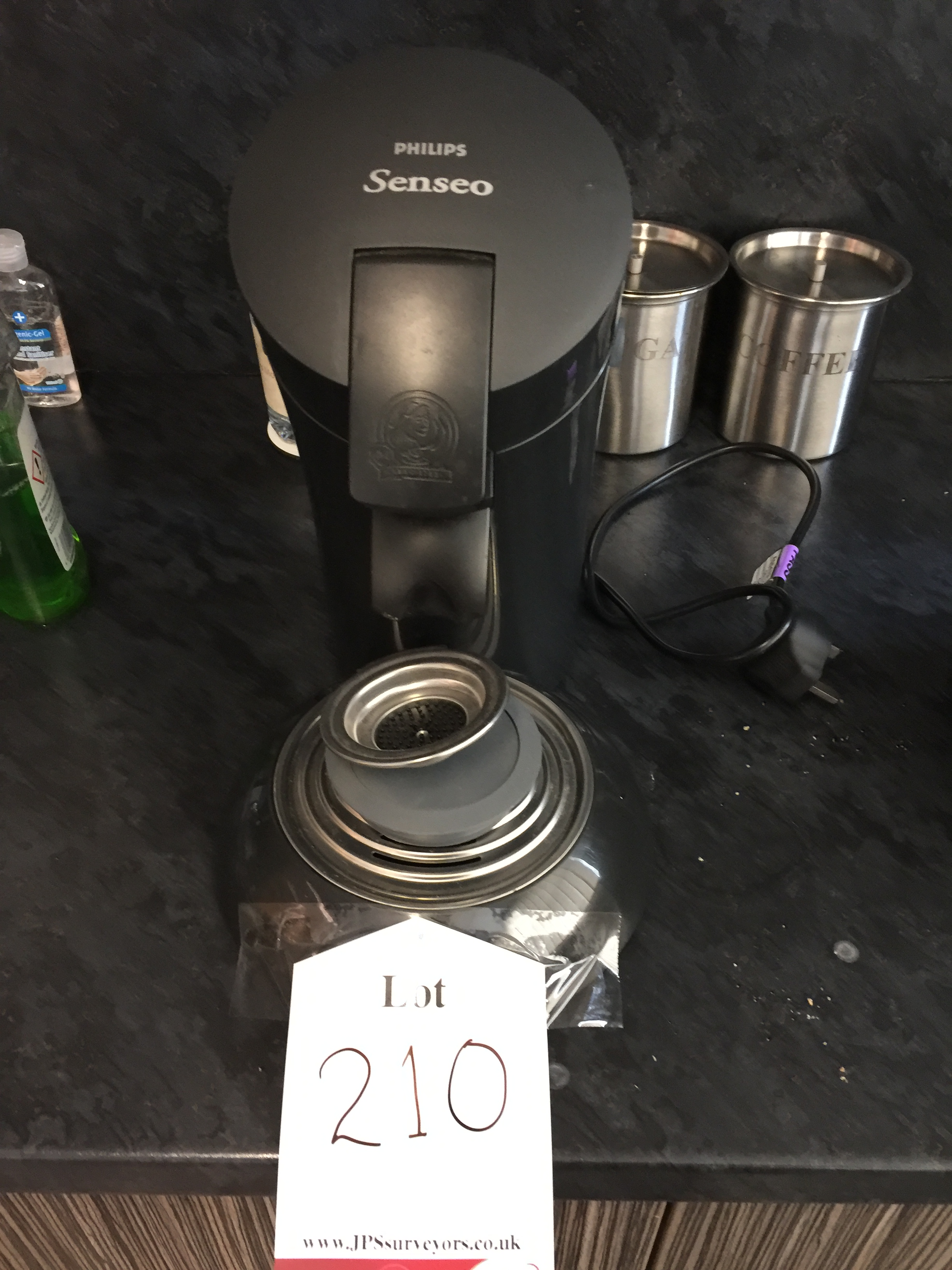 Philips Senseo coffee machineThis lot is suitable for the following collection types:COLLECTION O