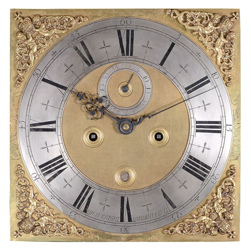 Lot 200 - An important Queen Anne ebonised eight-day longcase clock