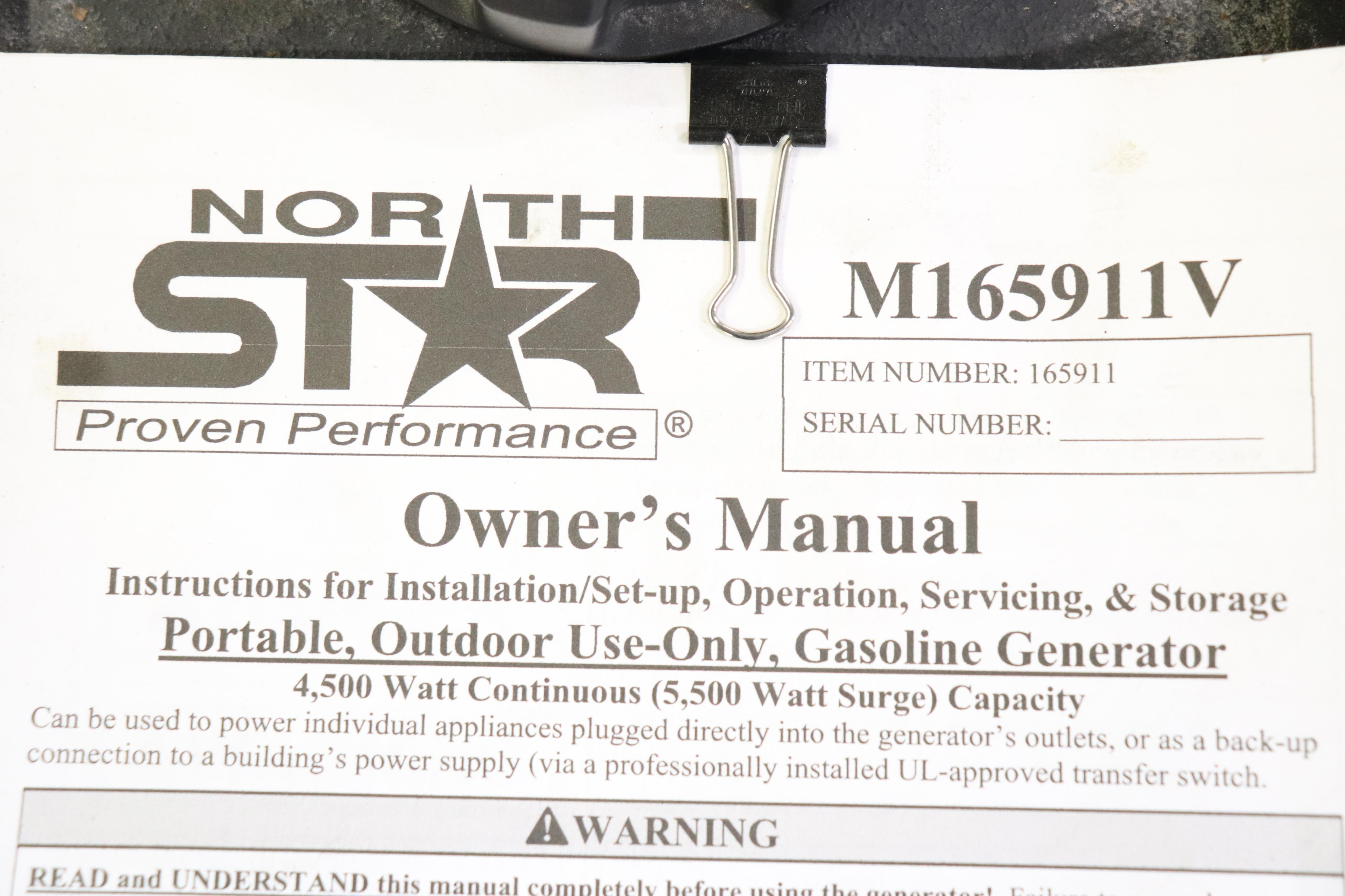 North Star 5500 PPG Pro Series Generator - Image 2 of 4