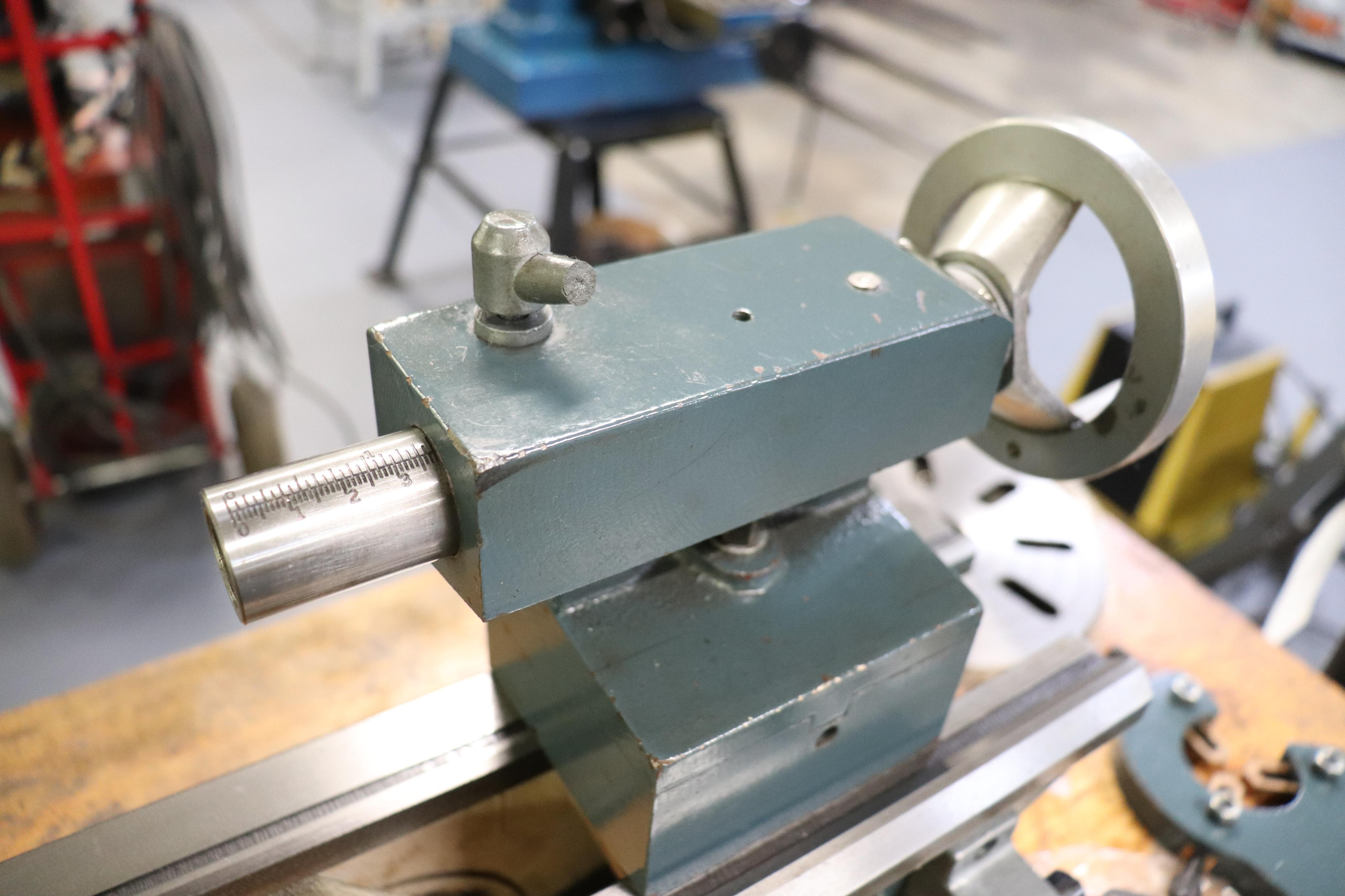 CF 918 bench top lathe w/ Kennedy cabinet, 110v - Image 8 of 17
