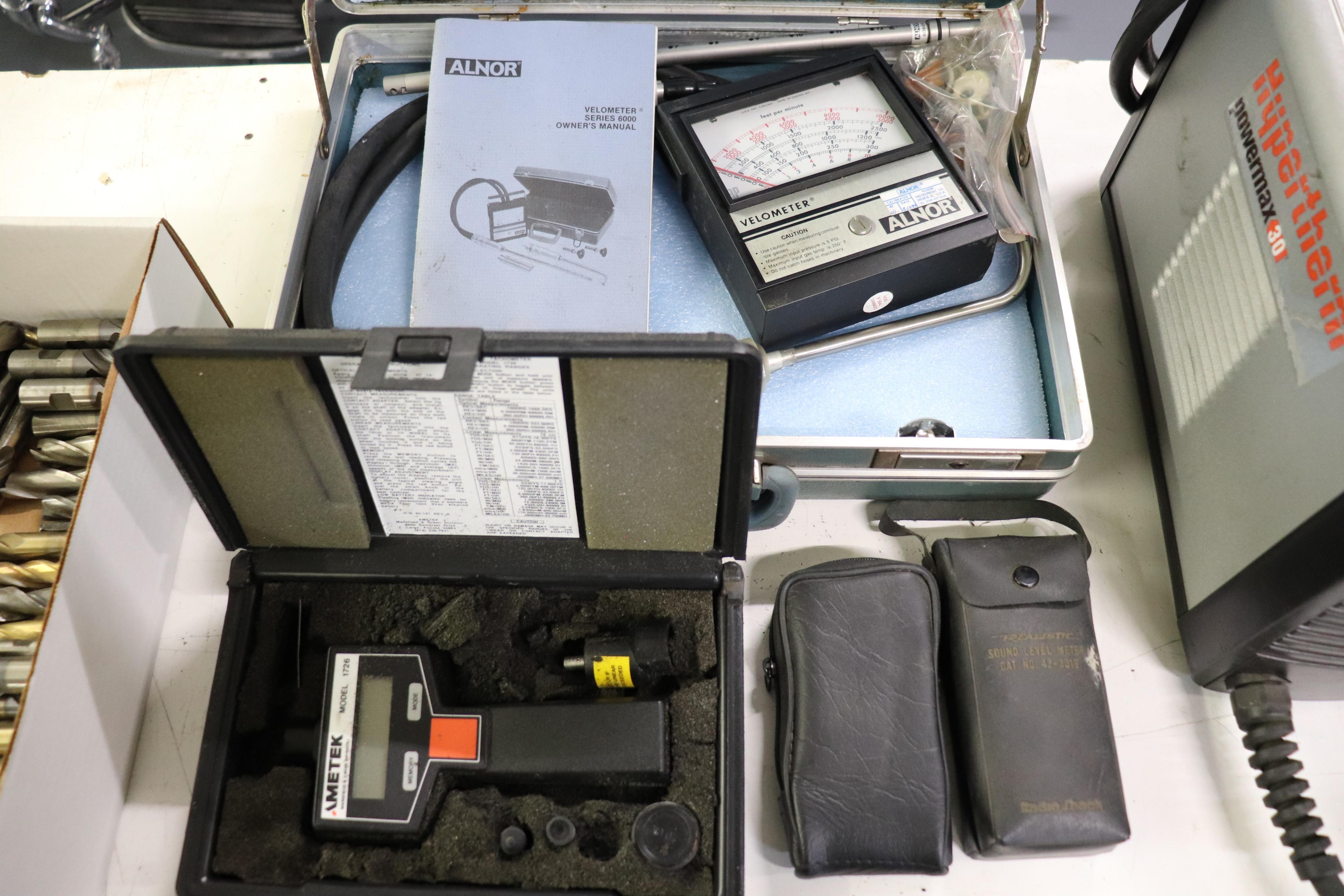 Velometer, digital Tachometer & Sound Level meter - Image 2 of 5
