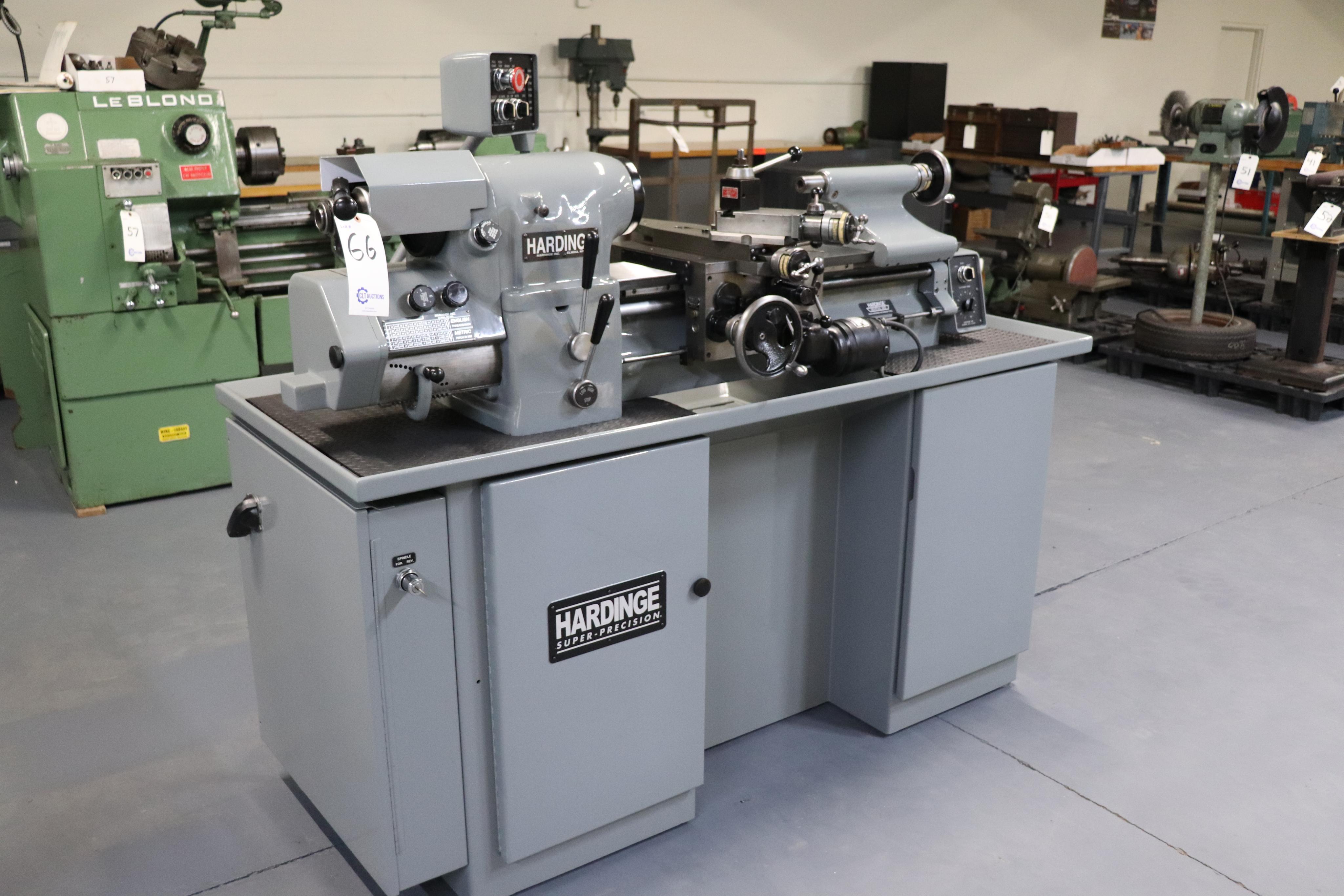 Hardinge HLV-EM Precision Tool Room Lathe HLV-H - Image 21 of 24