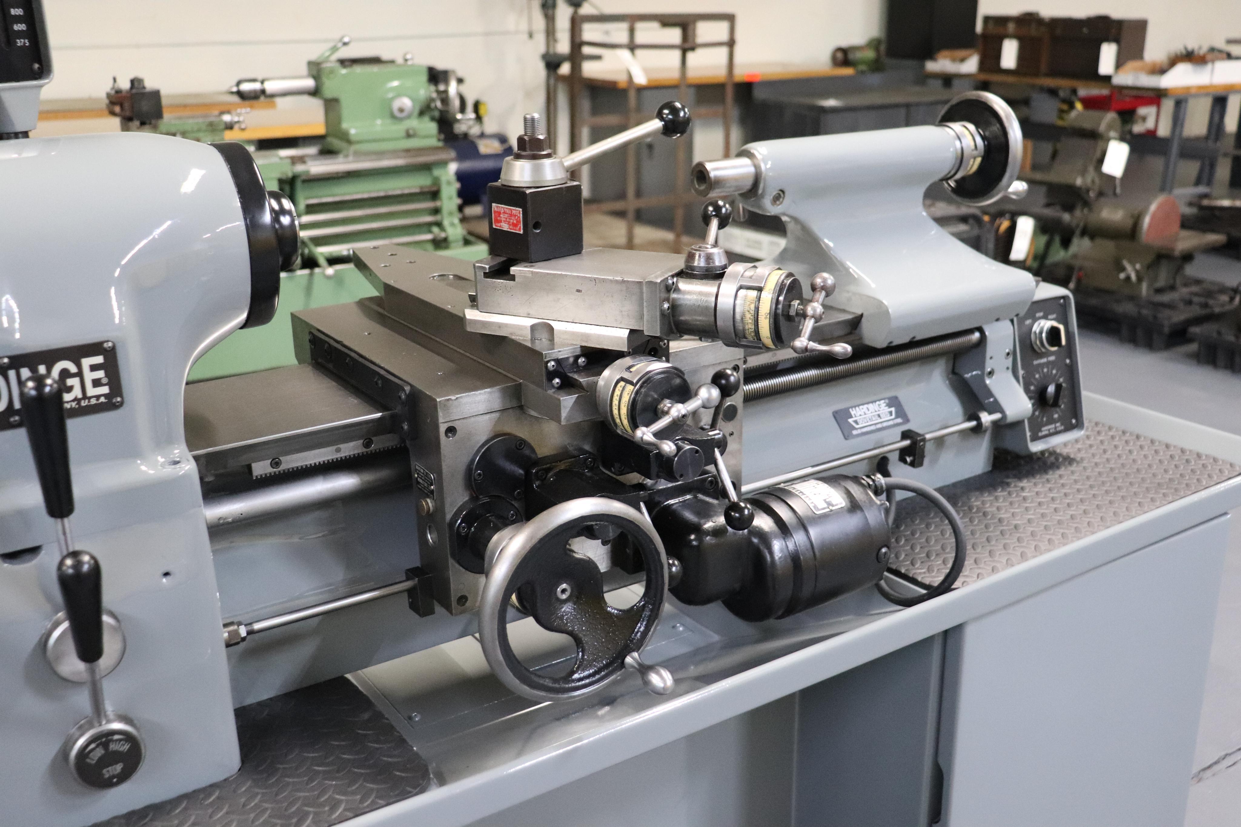 Hardinge HLV-EM Precision Tool Room Lathe HLV-H - Image 6 of 24