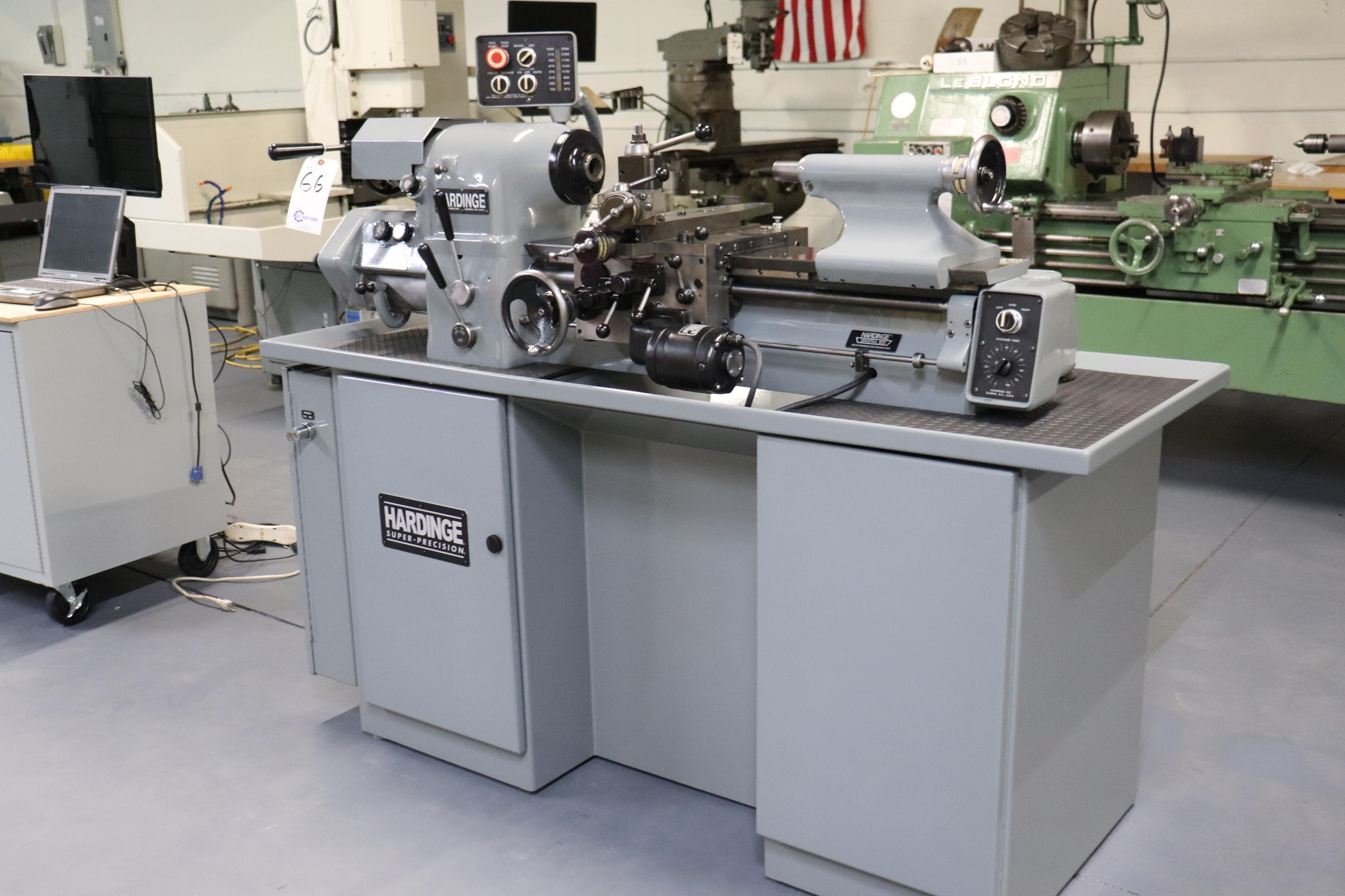 Hardinge HLV-EM Precision Tool Room Lathe HLV-H - Image 22 of 24