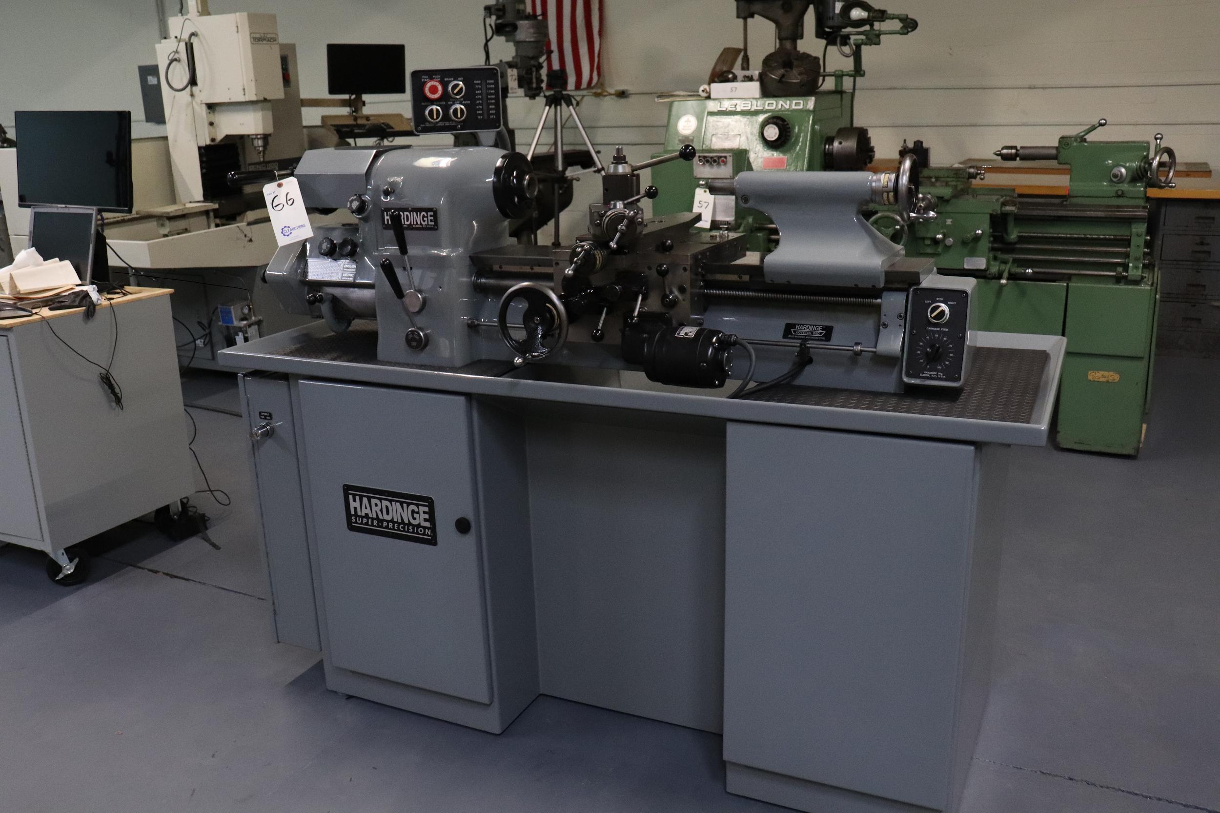 Hardinge HLV-EM Precision Tool Room Lathe HLV-H - Image 3 of 24