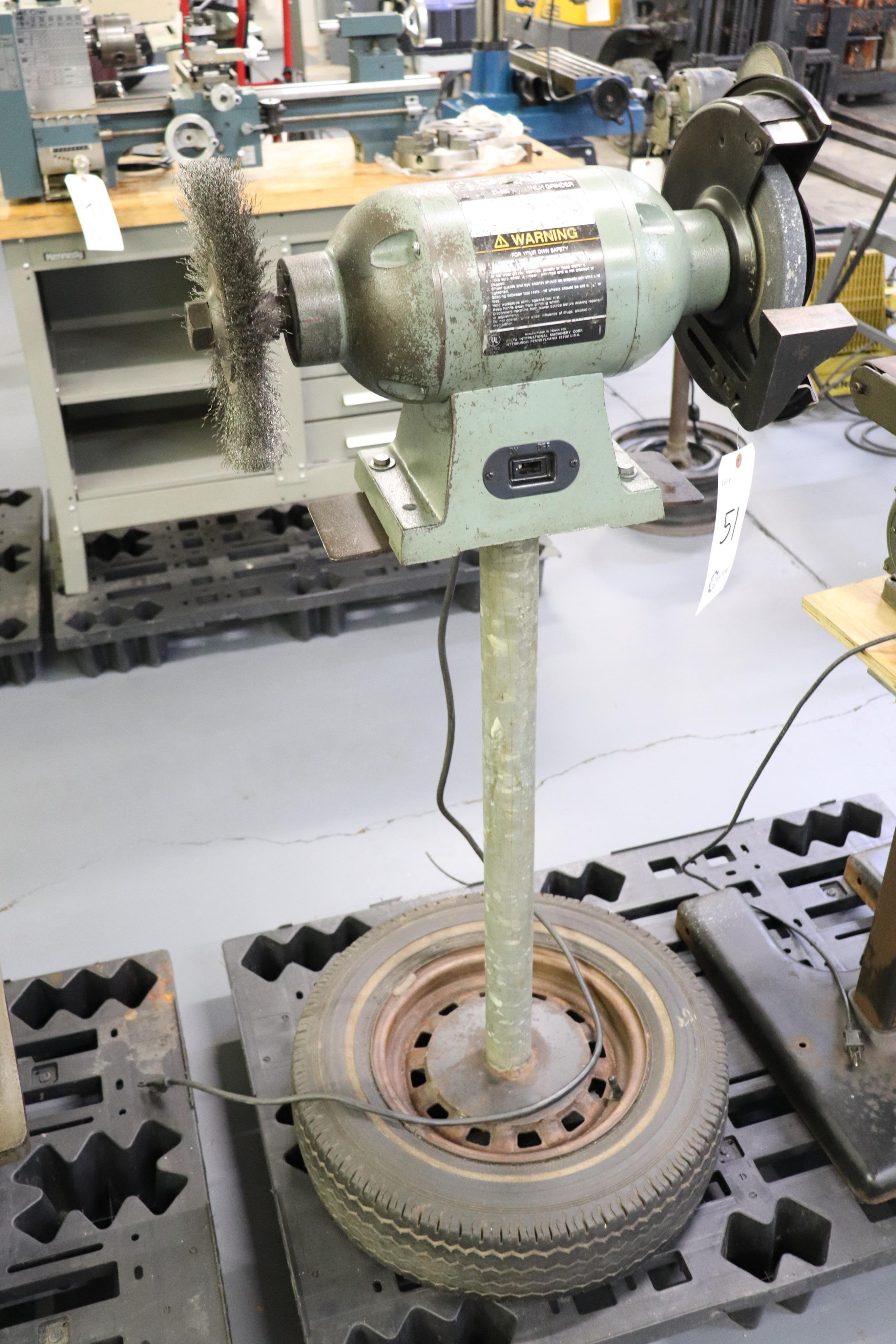 """Delta 23-980 10"""" bench grinder - Image 2 of 3"""
