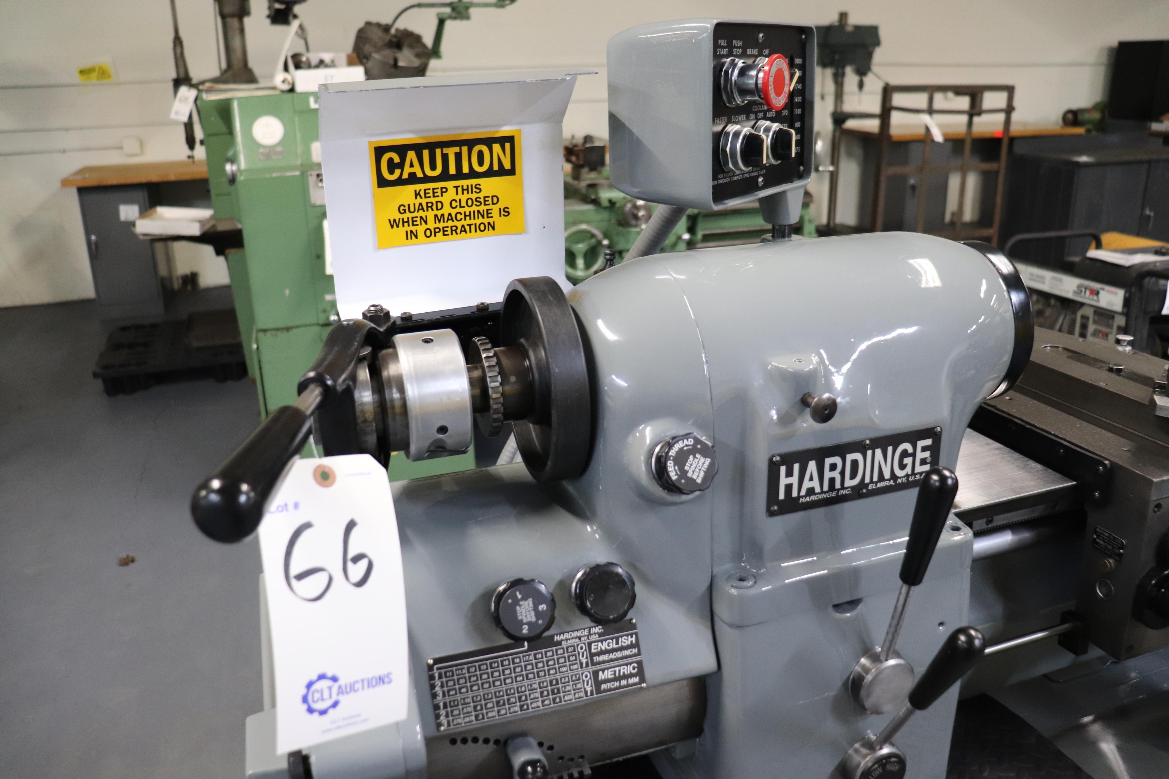 Hardinge HLV-EM Precision Tool Room Lathe HLV-H - Image 16 of 24