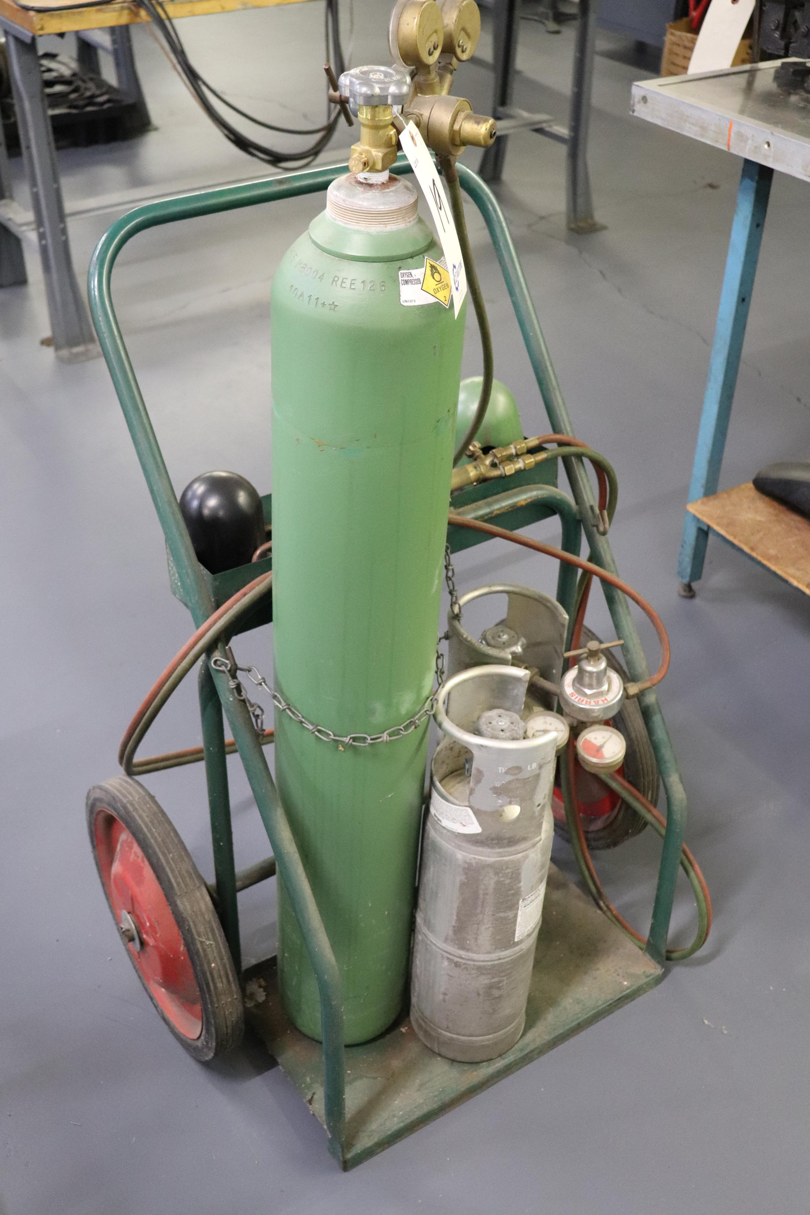 Braising torch & cart - Image 2 of 3