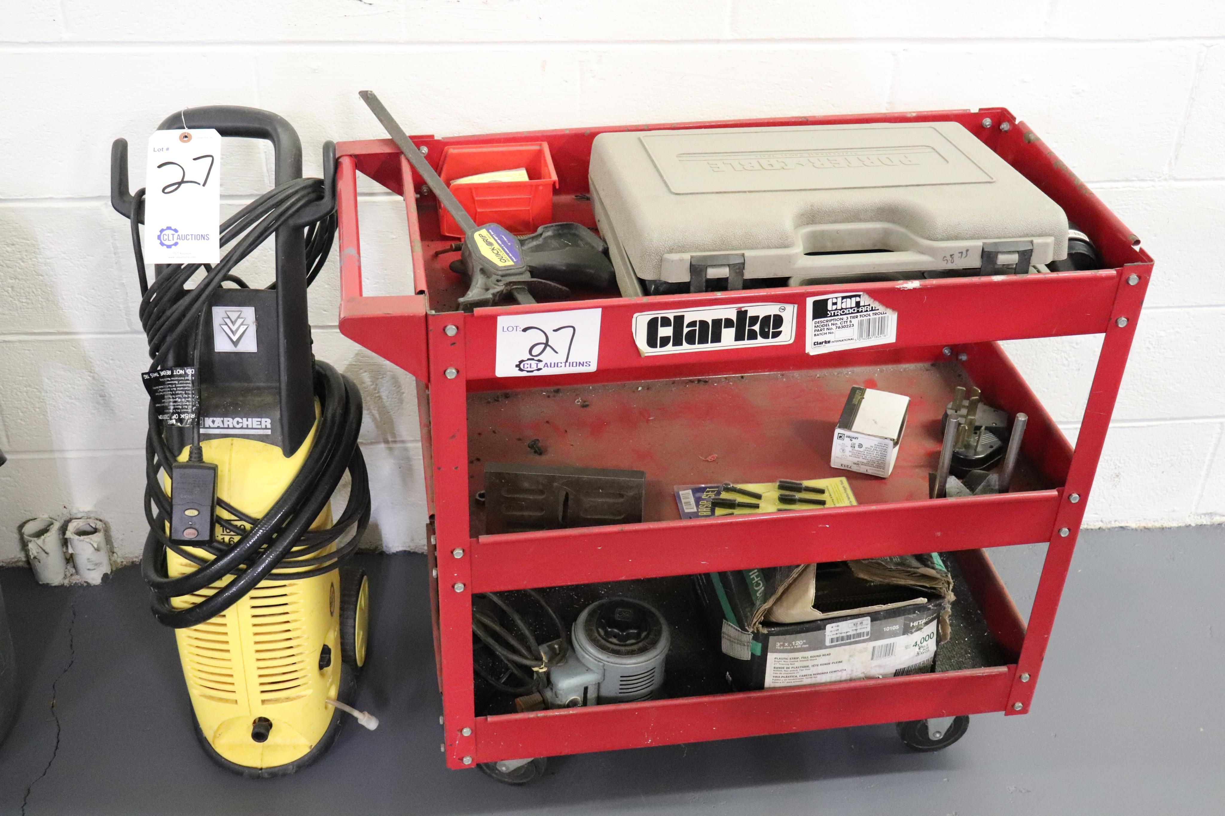 Cart of goodness and Karcher pressure washer