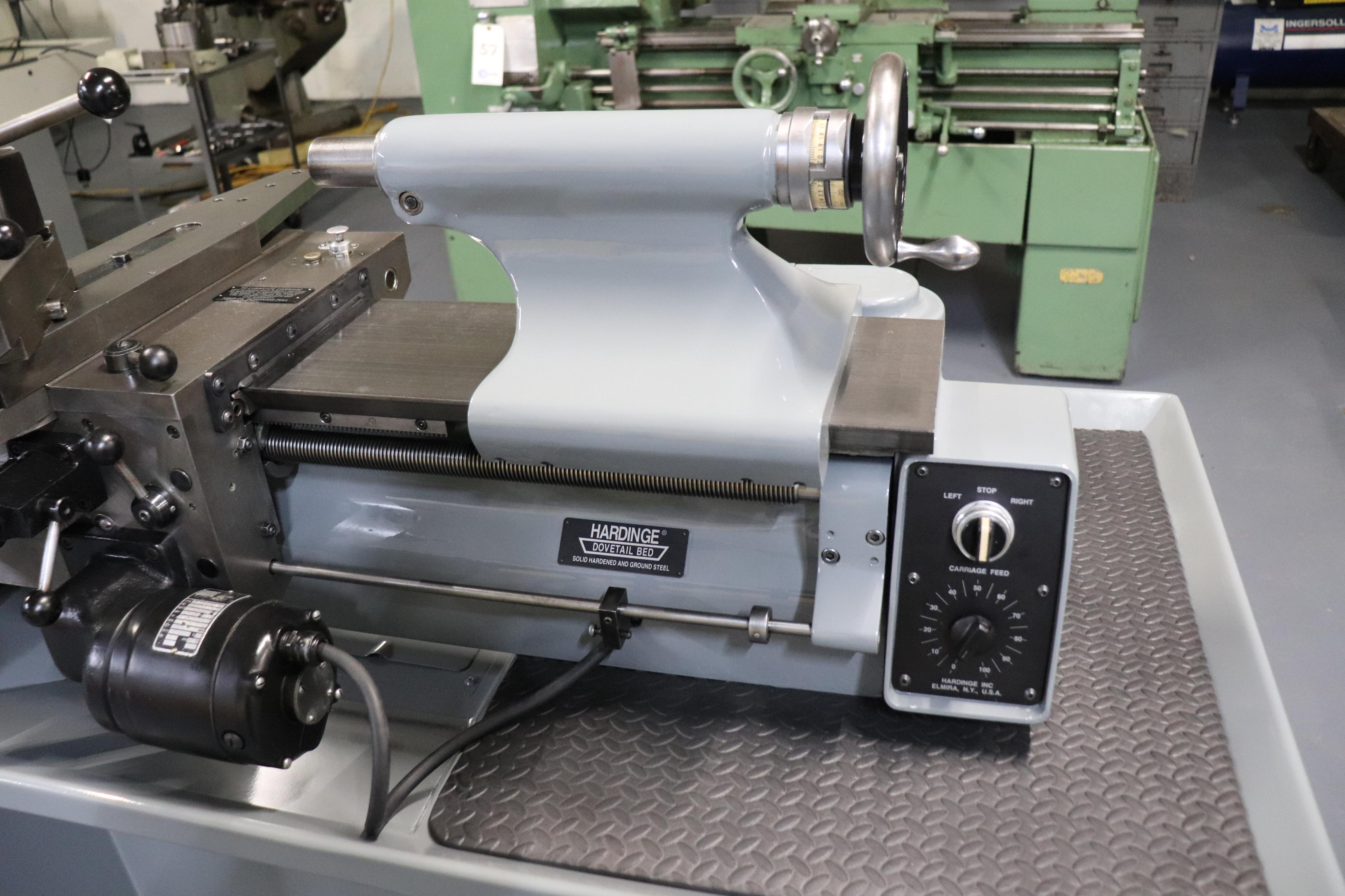 Hardinge HLV-EM Precision Tool Room Lathe HLV-H - Image 9 of 24