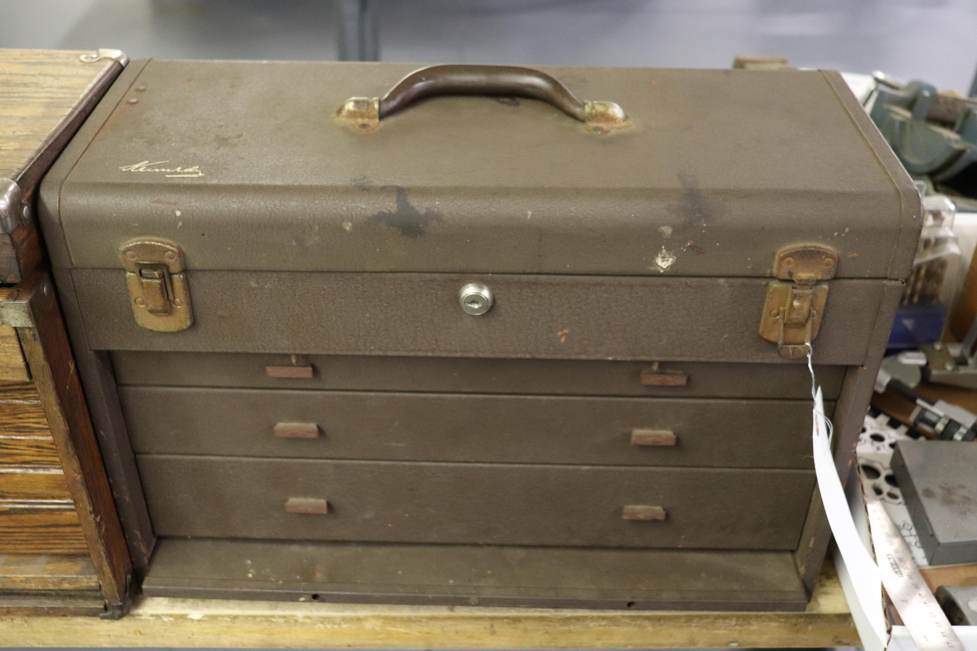 Kennedy 3 drawer tool box