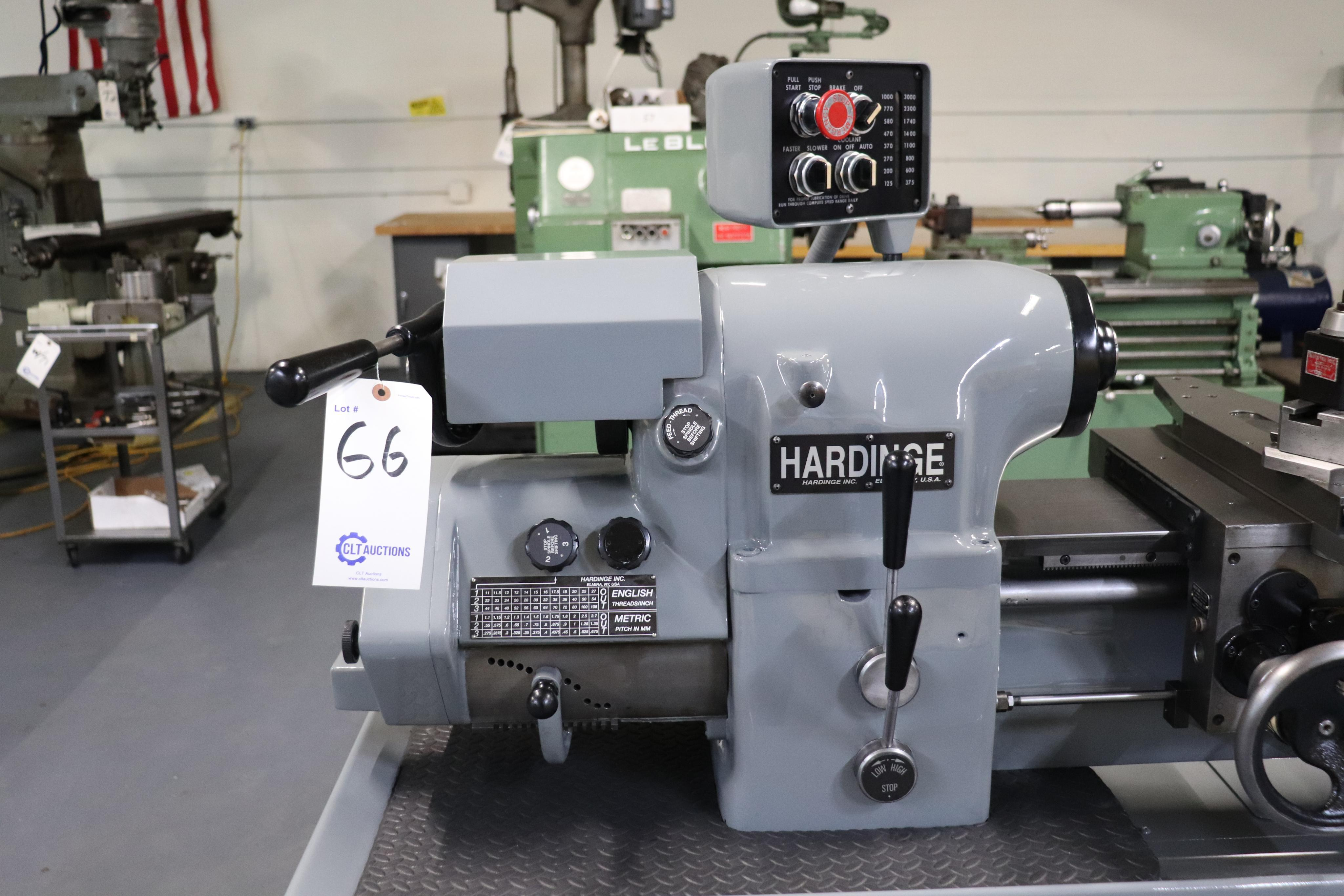Hardinge HLV-EM Precision Tool Room Lathe HLV-H - Image 5 of 24