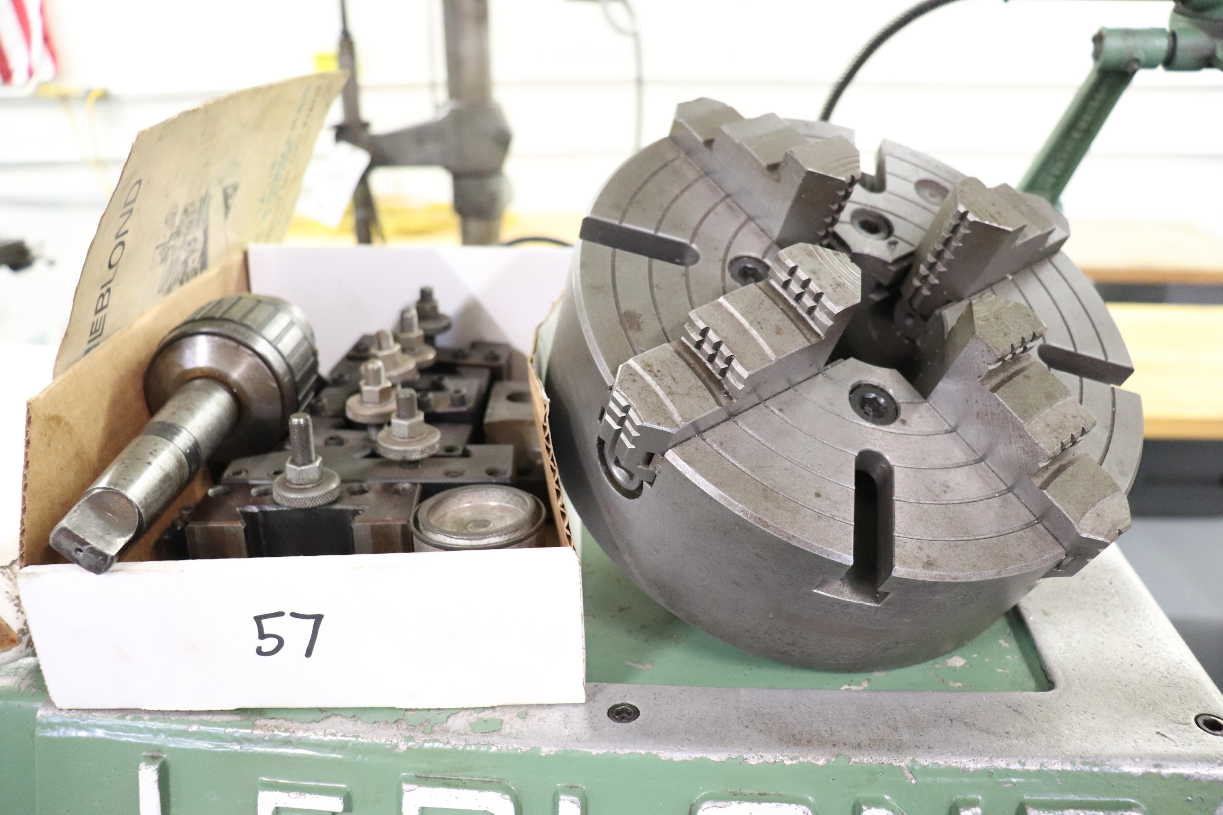 "Leblond Tool & Die Maker Lathe 14"" x 30"" - Image 9 of 13"