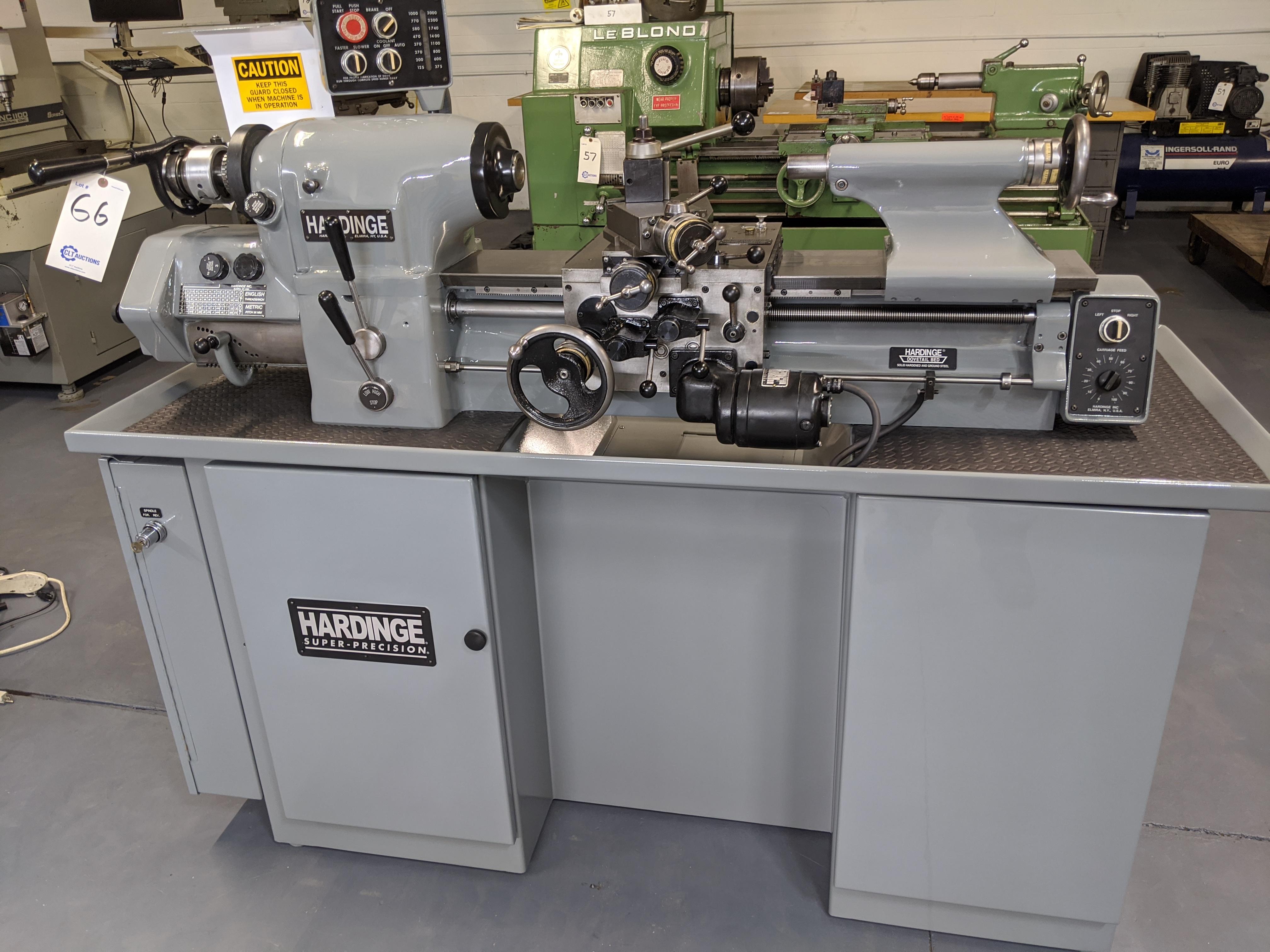 Hardinge HLV-EM Precision Tool Room Lathe HLV-H - Image 2 of 24