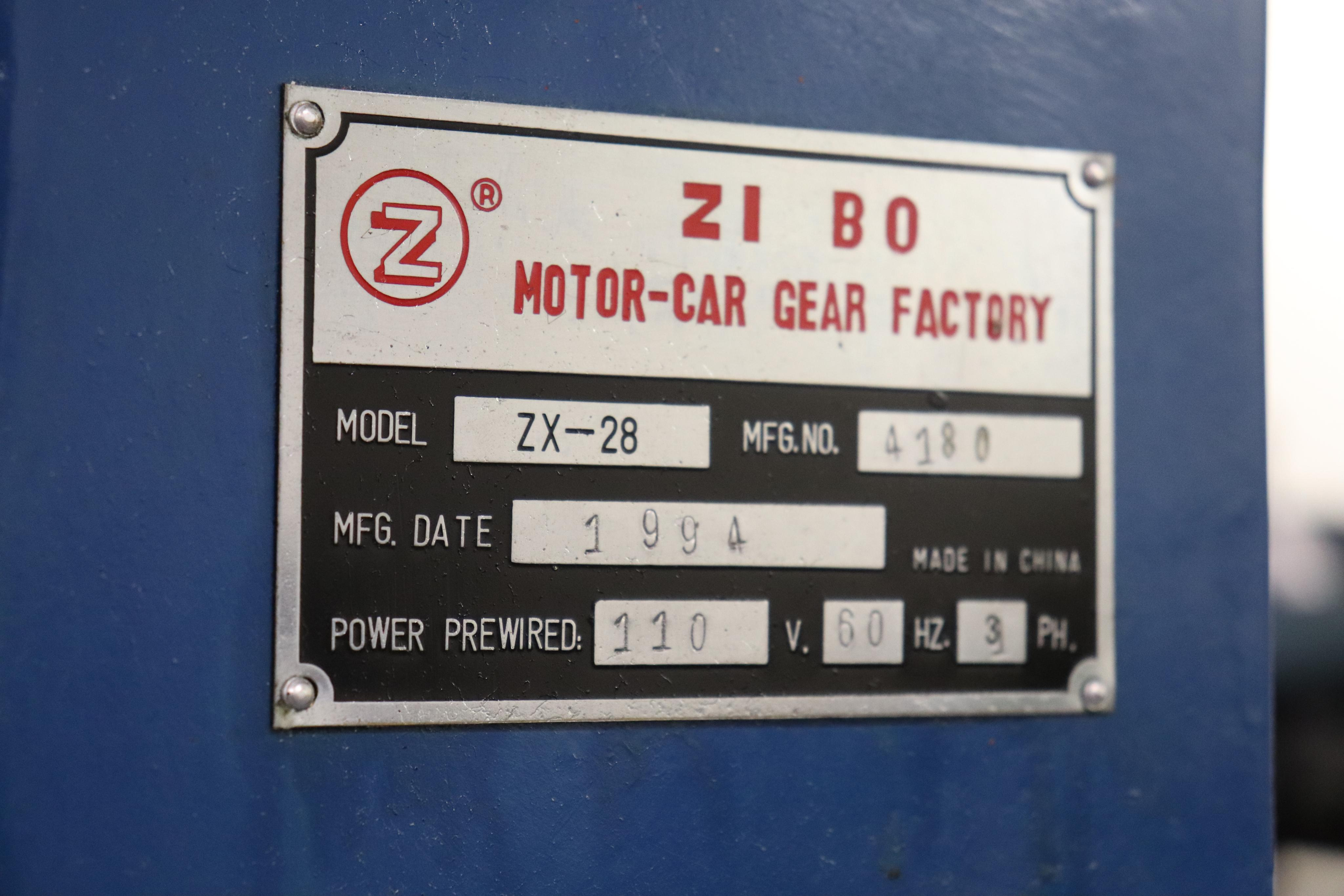 Motor-Car Gear Factory ZX-28 vertical milling machine - Image 6 of 7