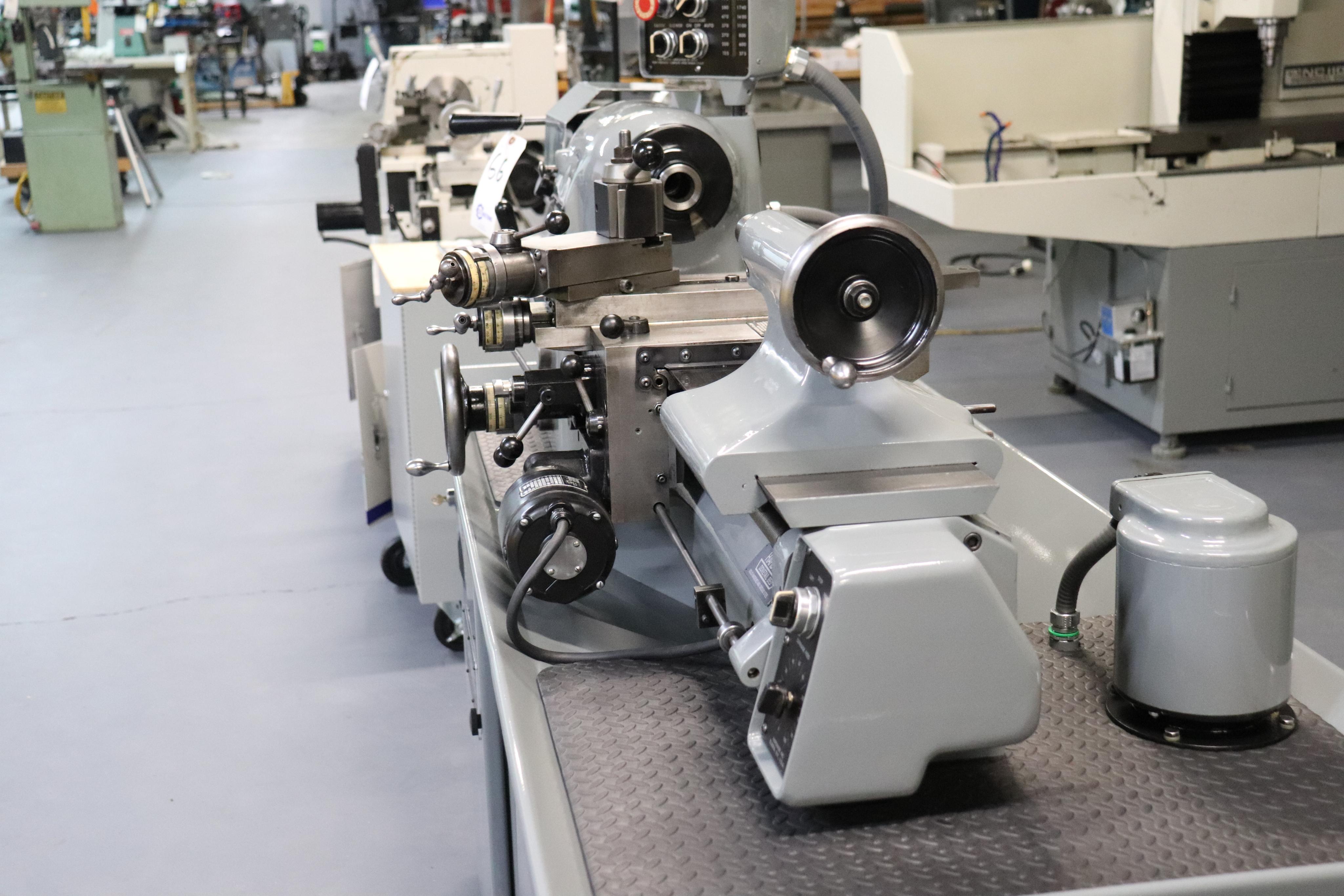 Hardinge HLV-EM Precision Tool Room Lathe HLV-H - Image 20 of 24
