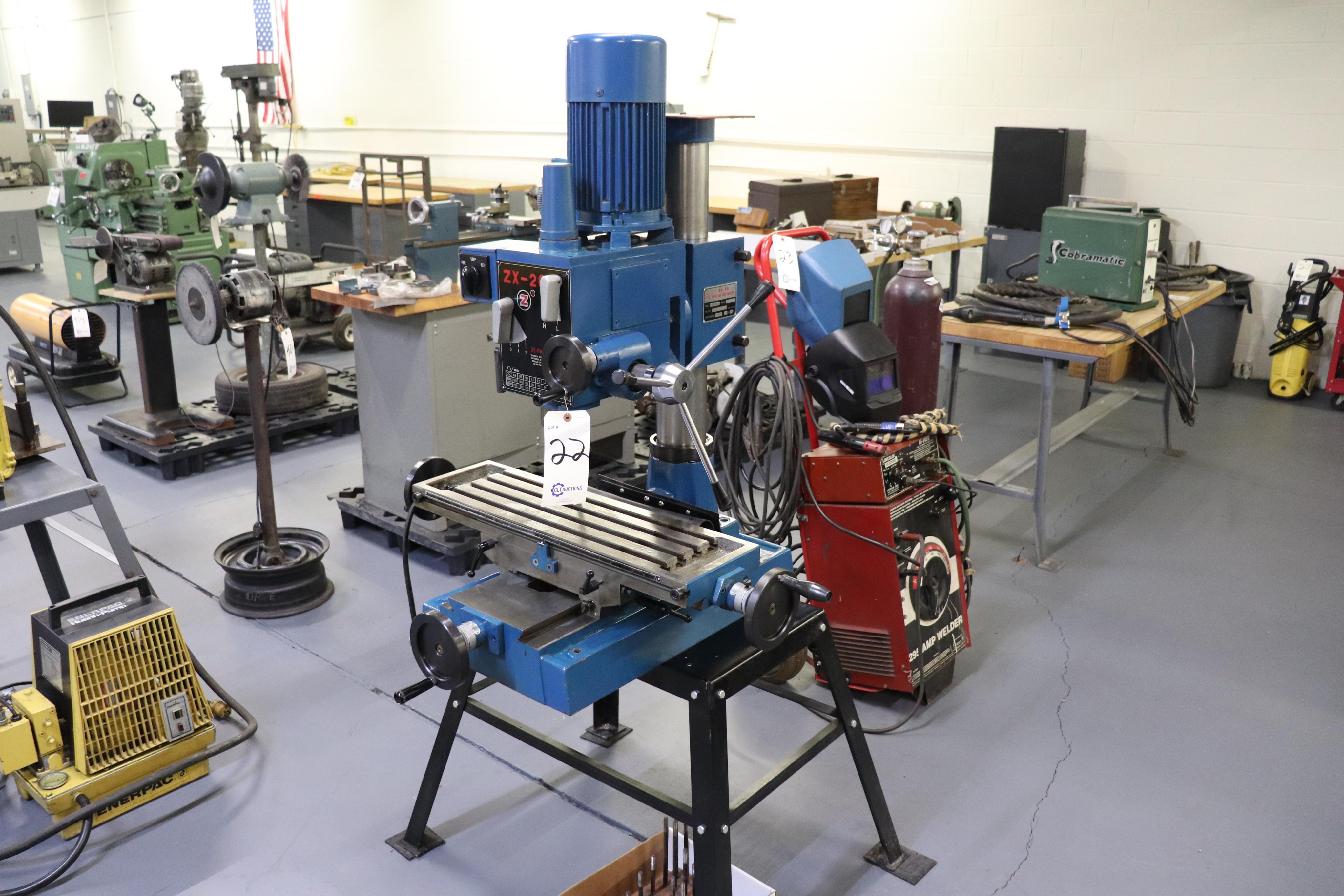 Motor-Car Gear Factory ZX-28 vertical milling machine