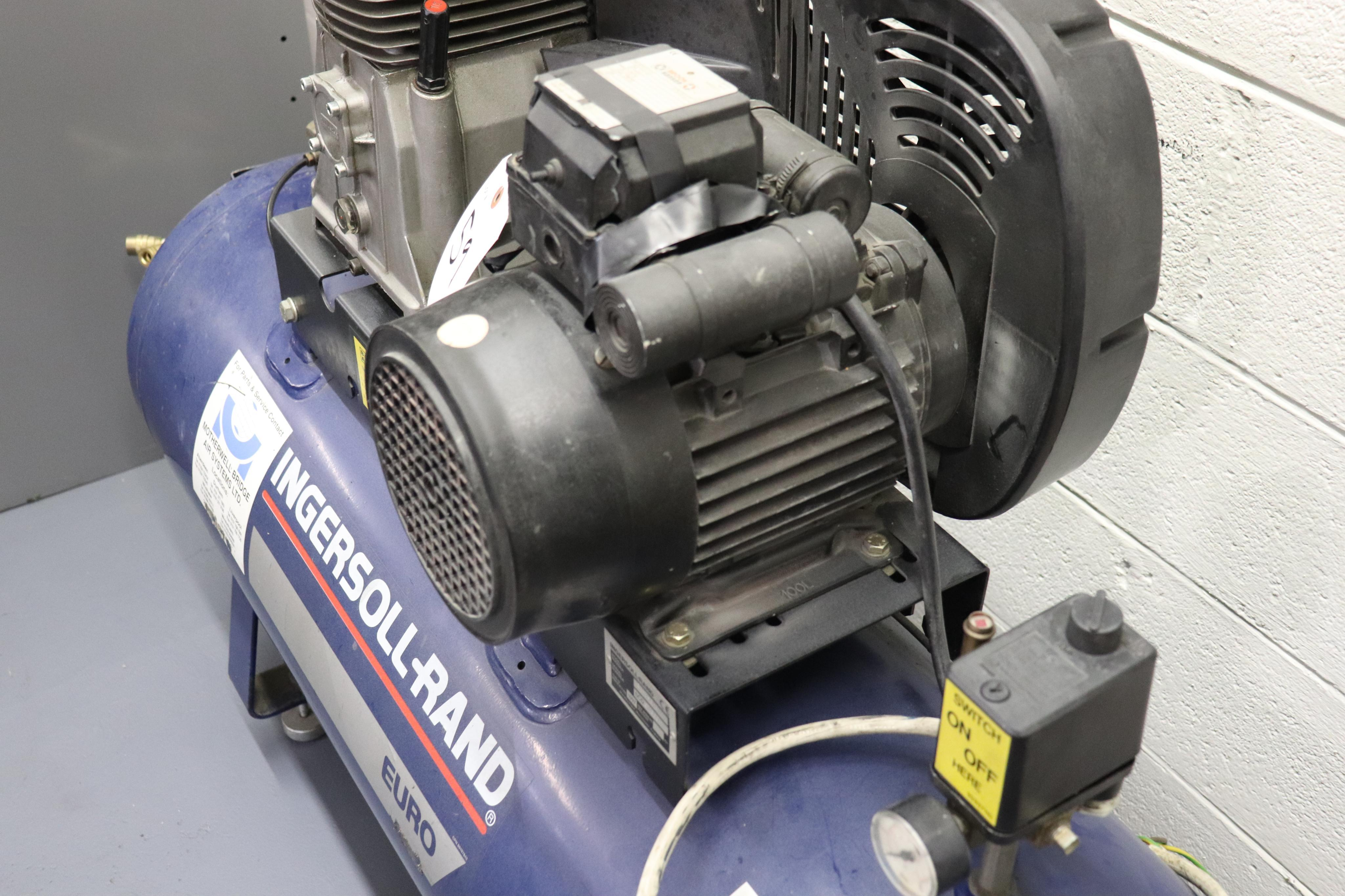 Ingersoll-Rand Euro 2.2KW air compressor *has bad switch* - Image 2 of 4