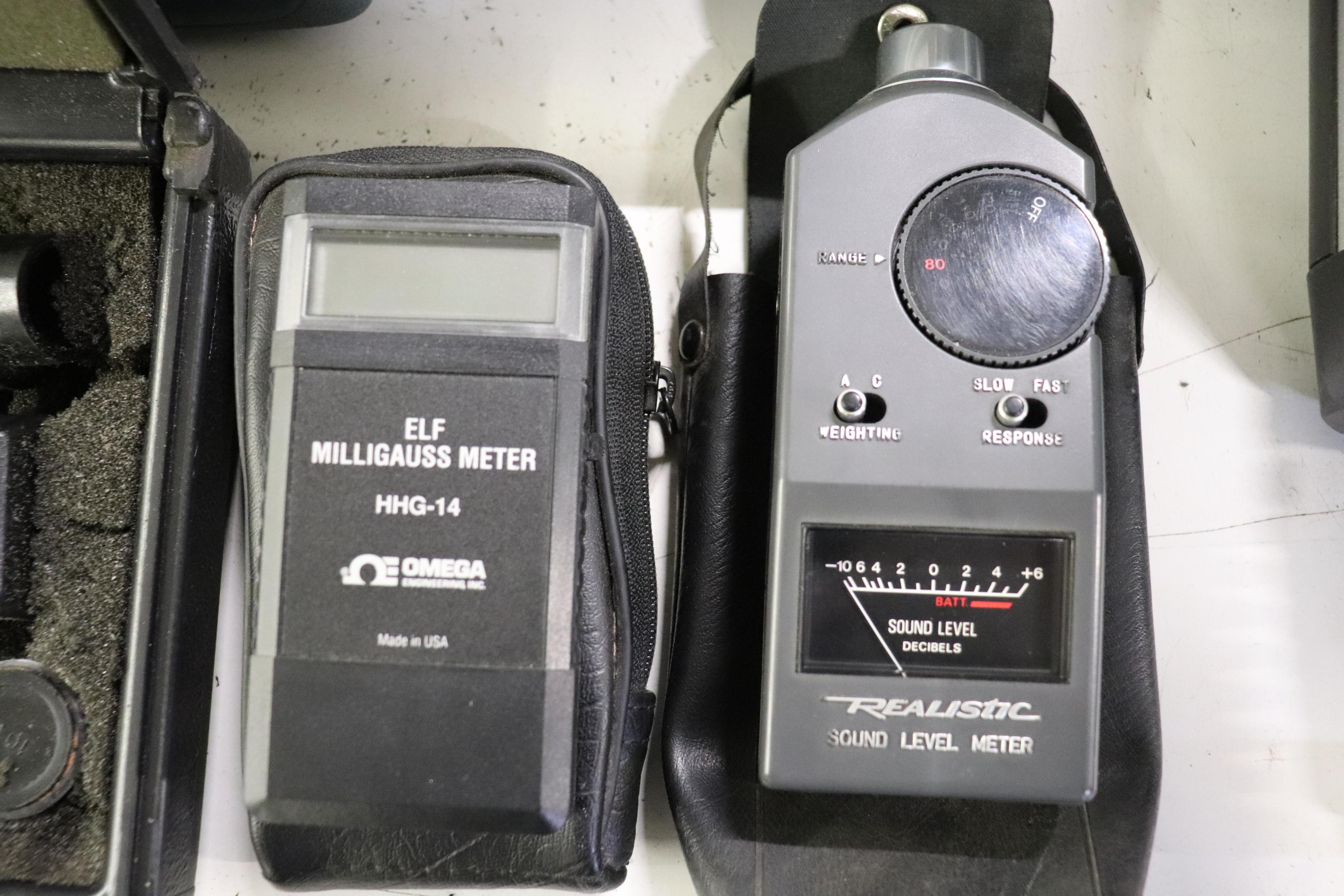 Velometer, digital Tachometer & Sound Level meter - Image 5 of 5