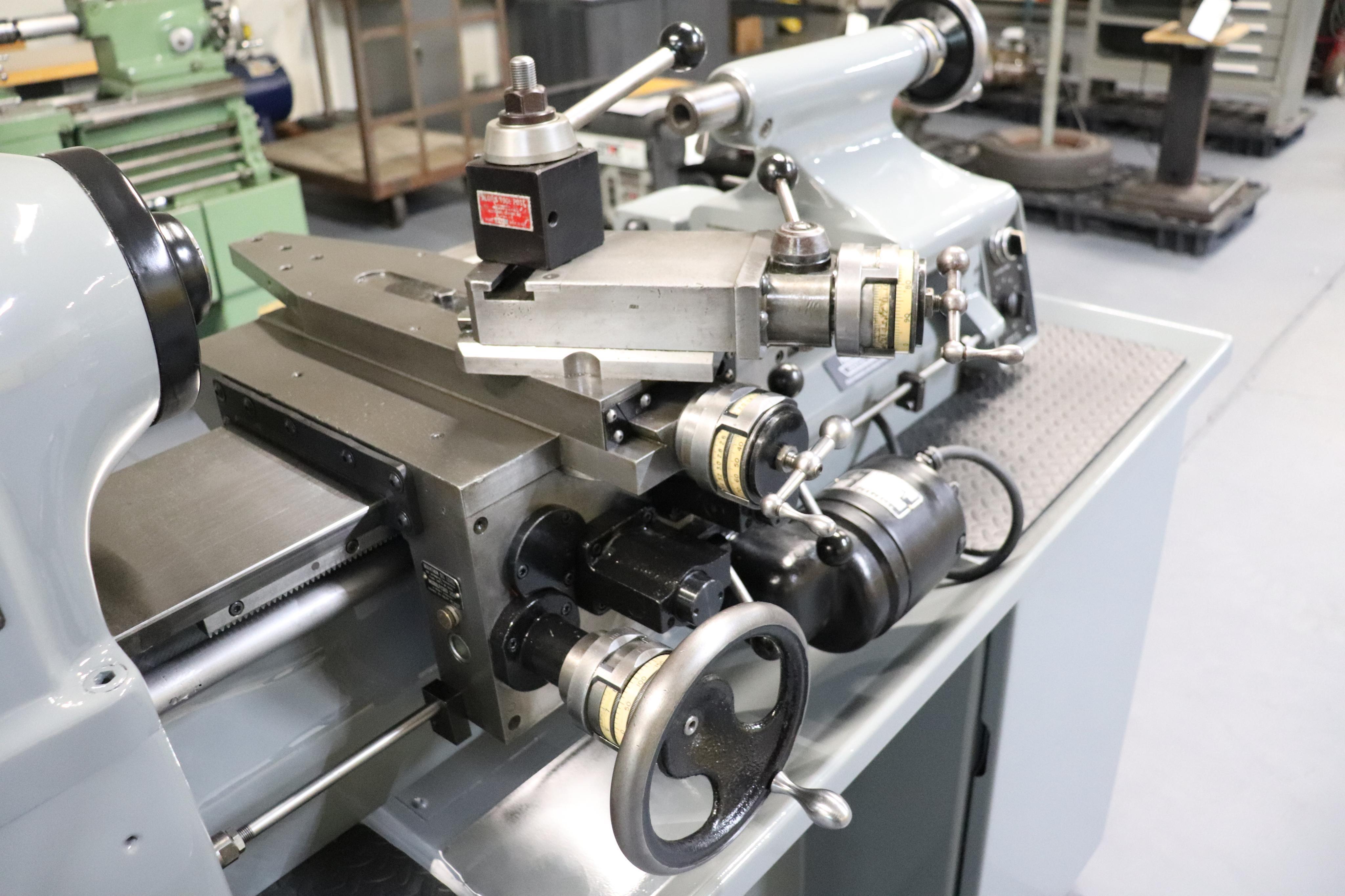 Hardinge HLV-EM Precision Tool Room Lathe HLV-H - Image 7 of 24
