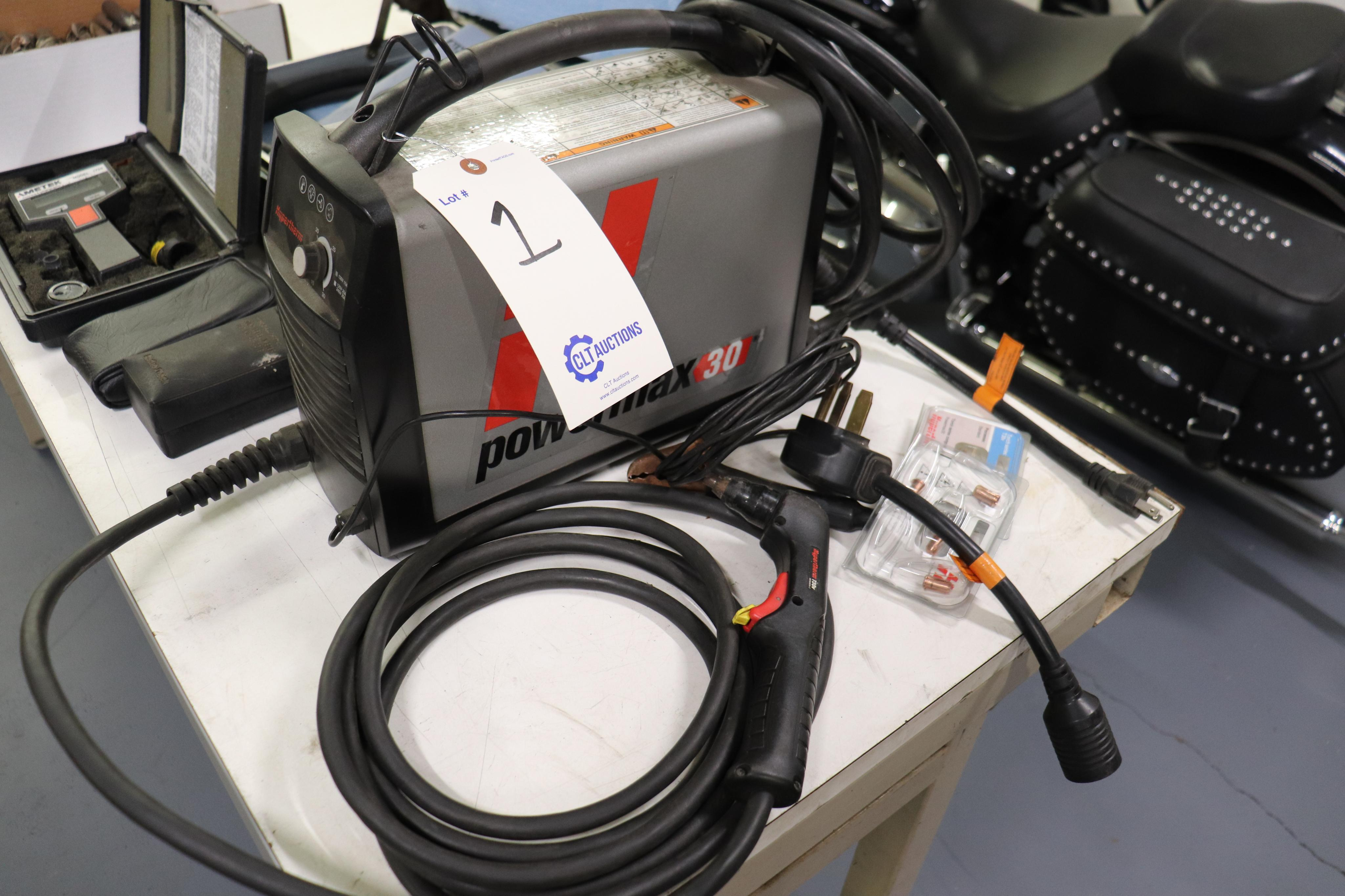 Hypertherm Powermax 30 plasma cutter