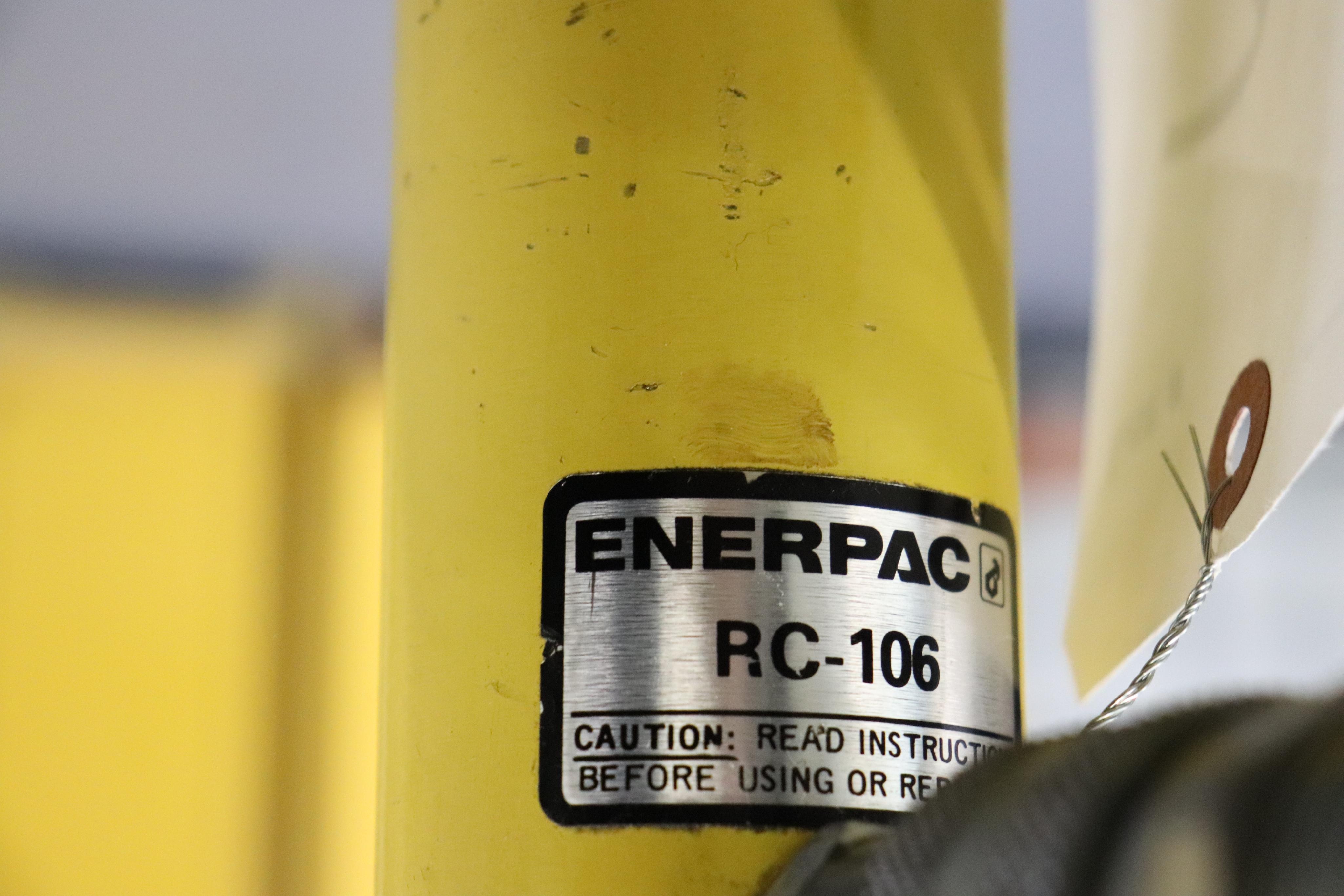 Enerpac Hush pump w/ C frame press - Image 7 of 8