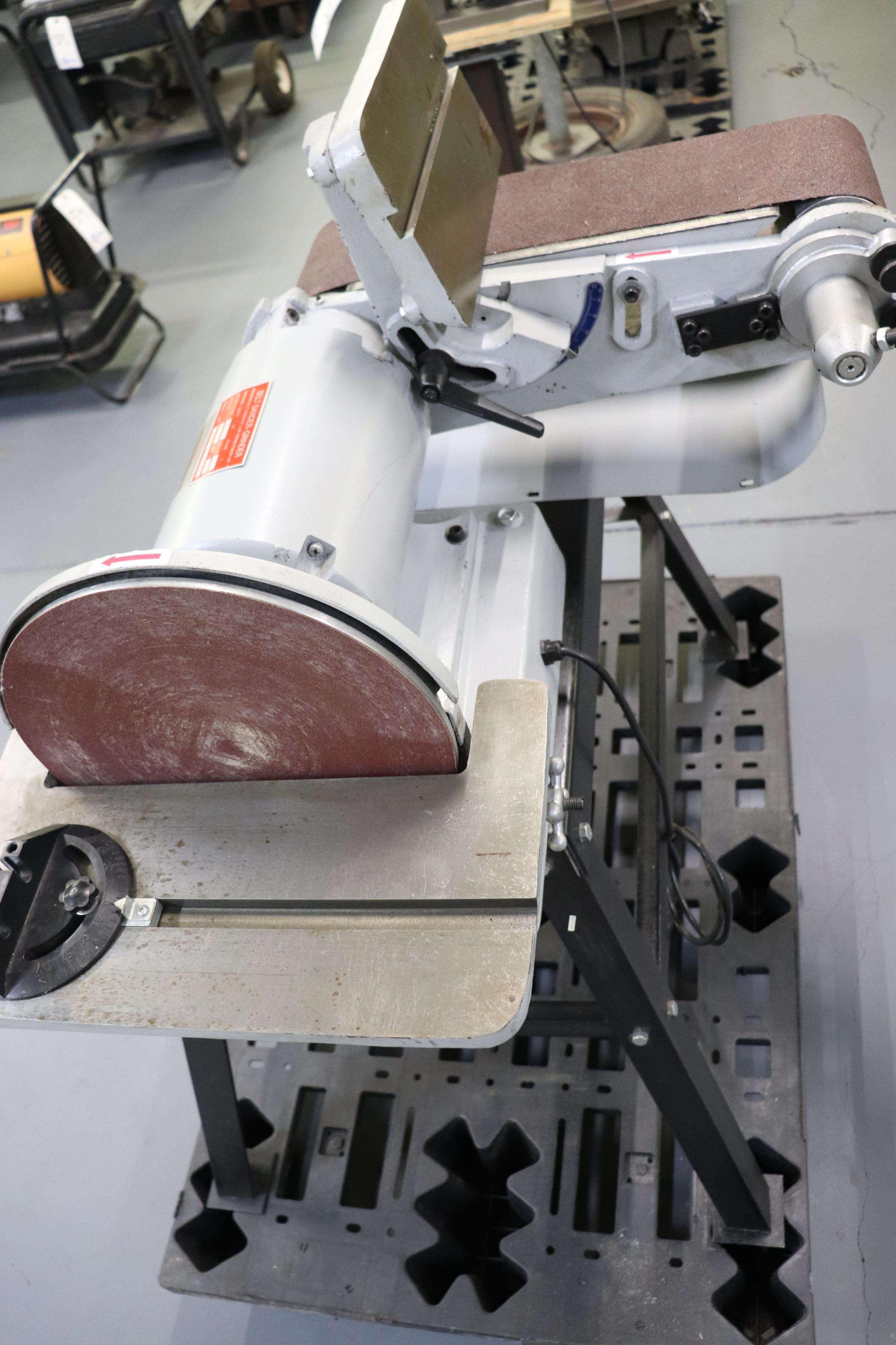 """Belt sander-grinder 12"""" disc & 6"""" belt - Image 2 of 3"""