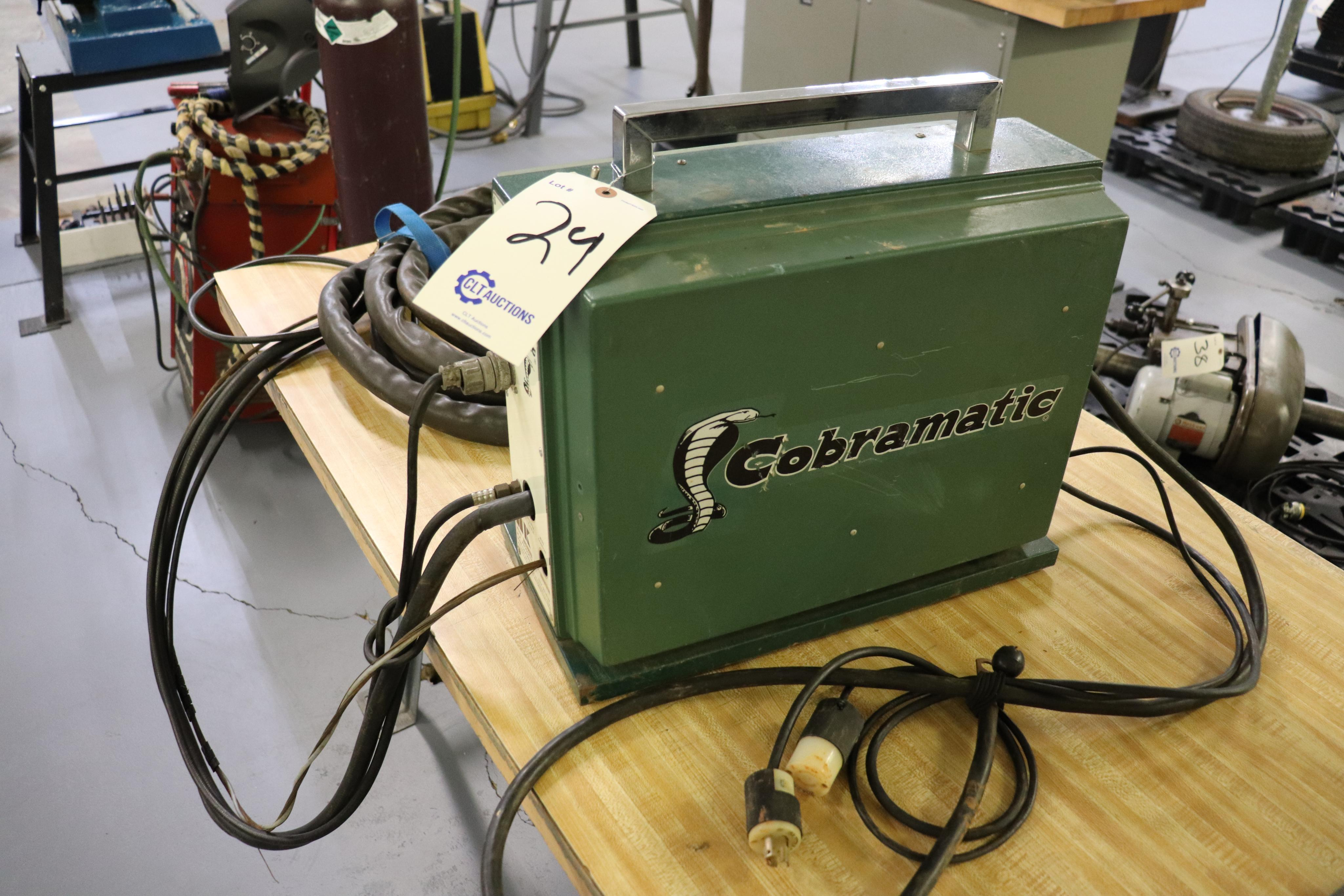 Cobramatic MK-3A portable MiG wire feeder - Image 2 of 5