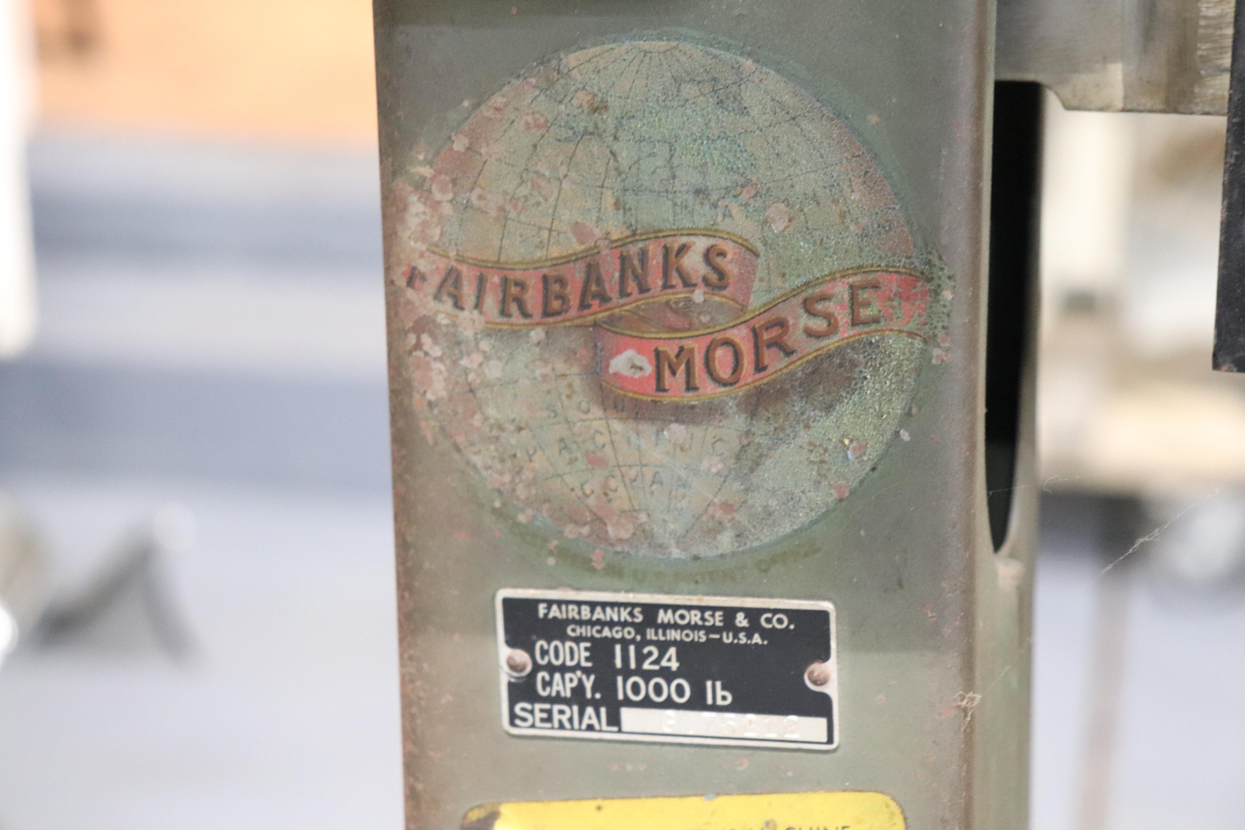 Fairbanks 1000 lbs. scale - Image 4 of 4