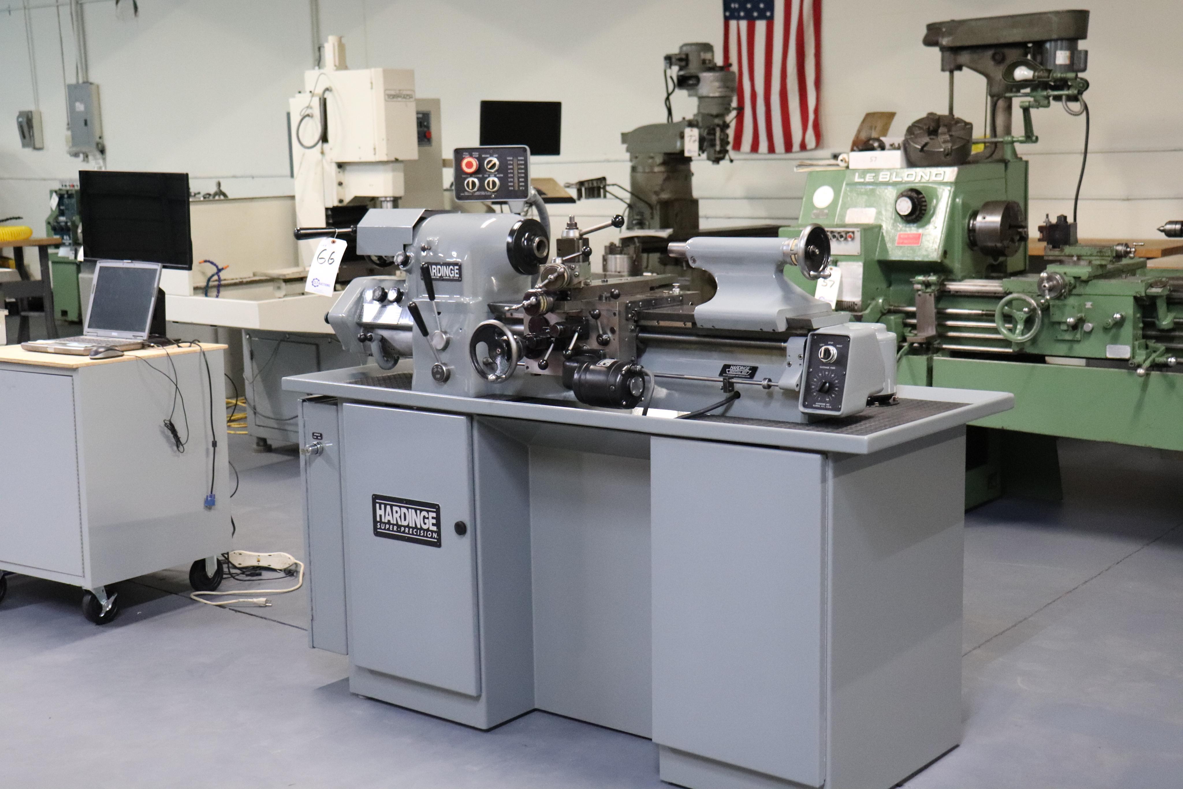 Hardinge HLV-EM Precision Tool Room Lathe HLV-H - Image 4 of 24