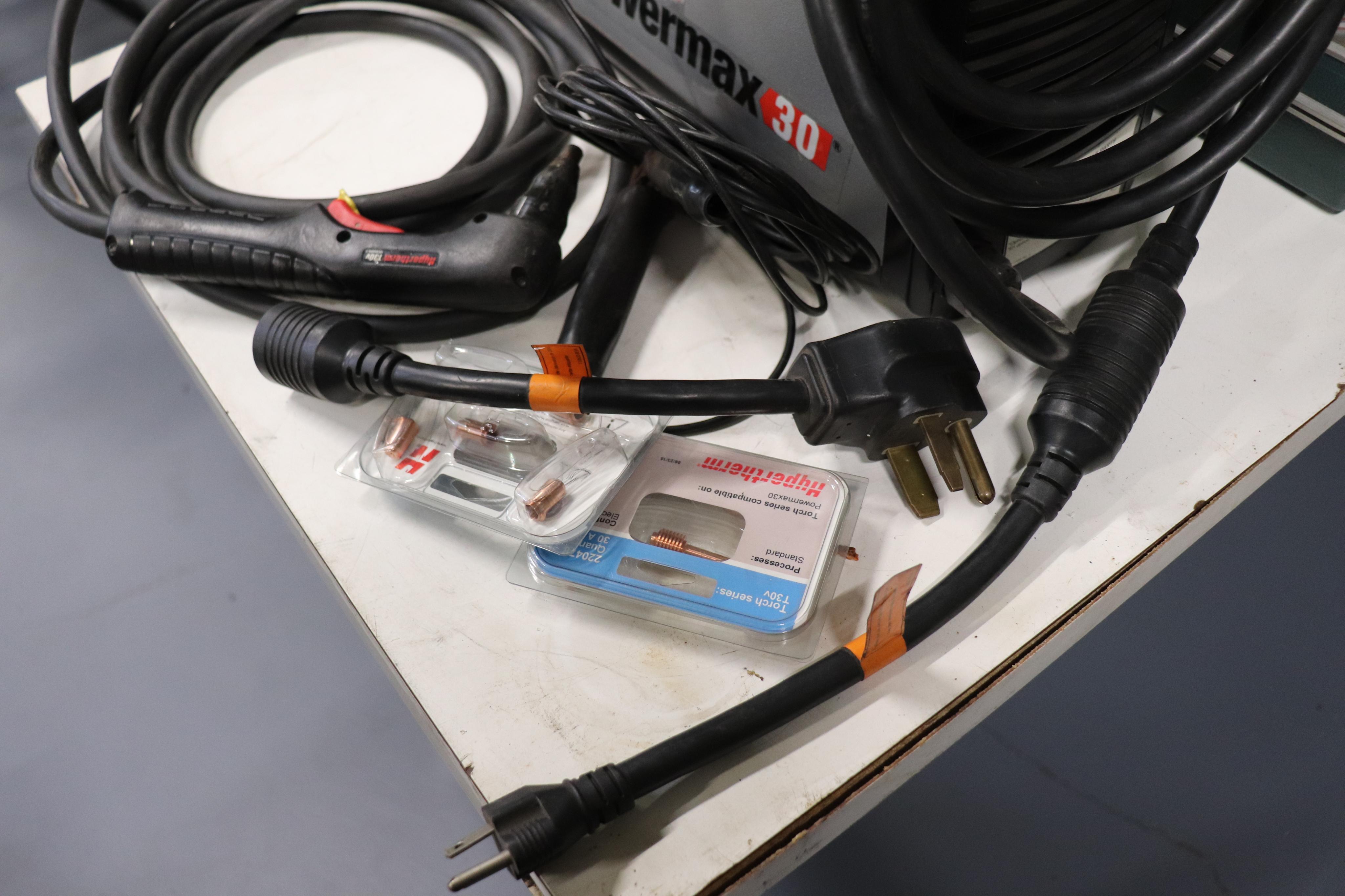Hypertherm Powermax 30 plasma cutter - Image 4 of 4