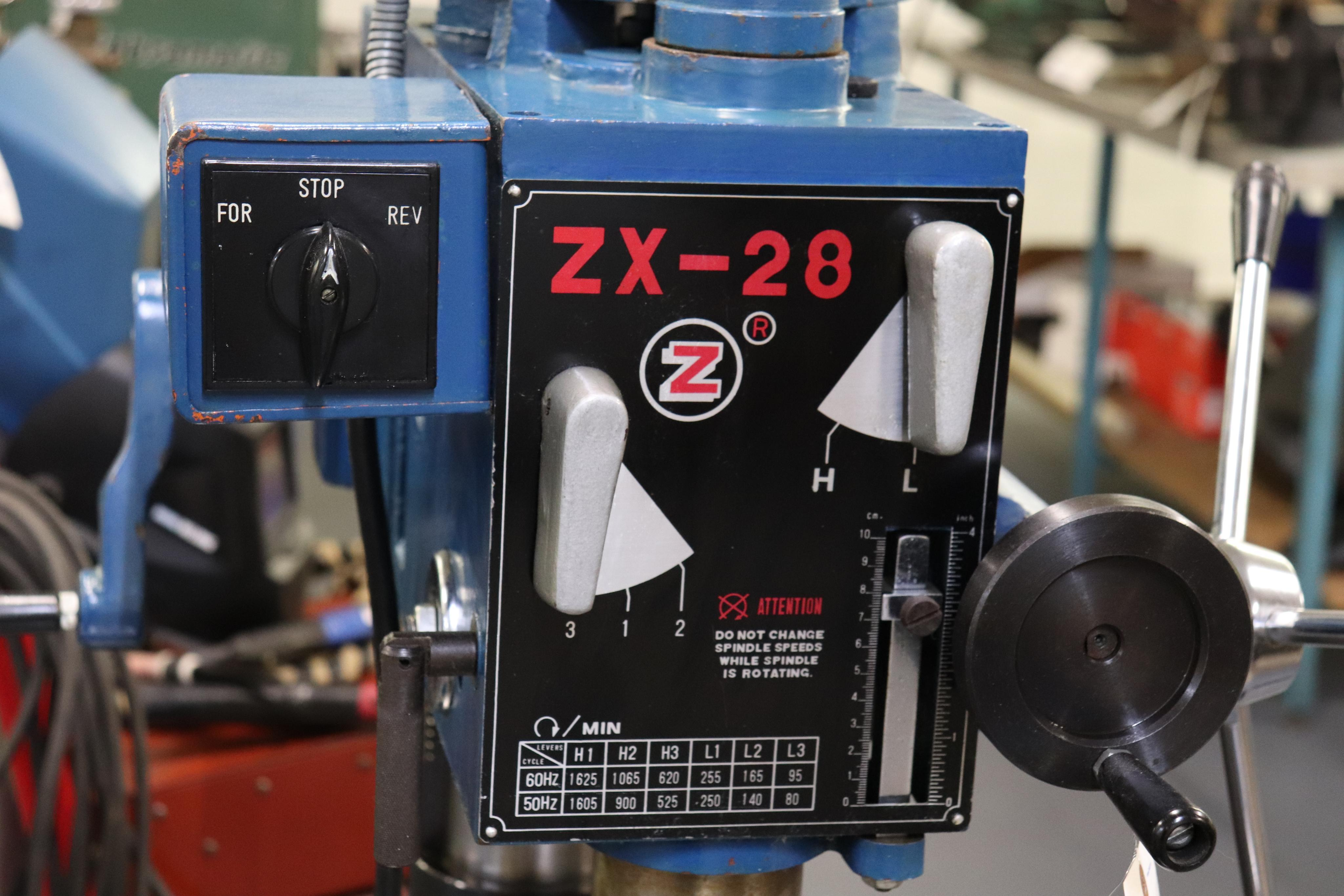 Motor-Car Gear Factory ZX-28 vertical milling machine - Image 4 of 7