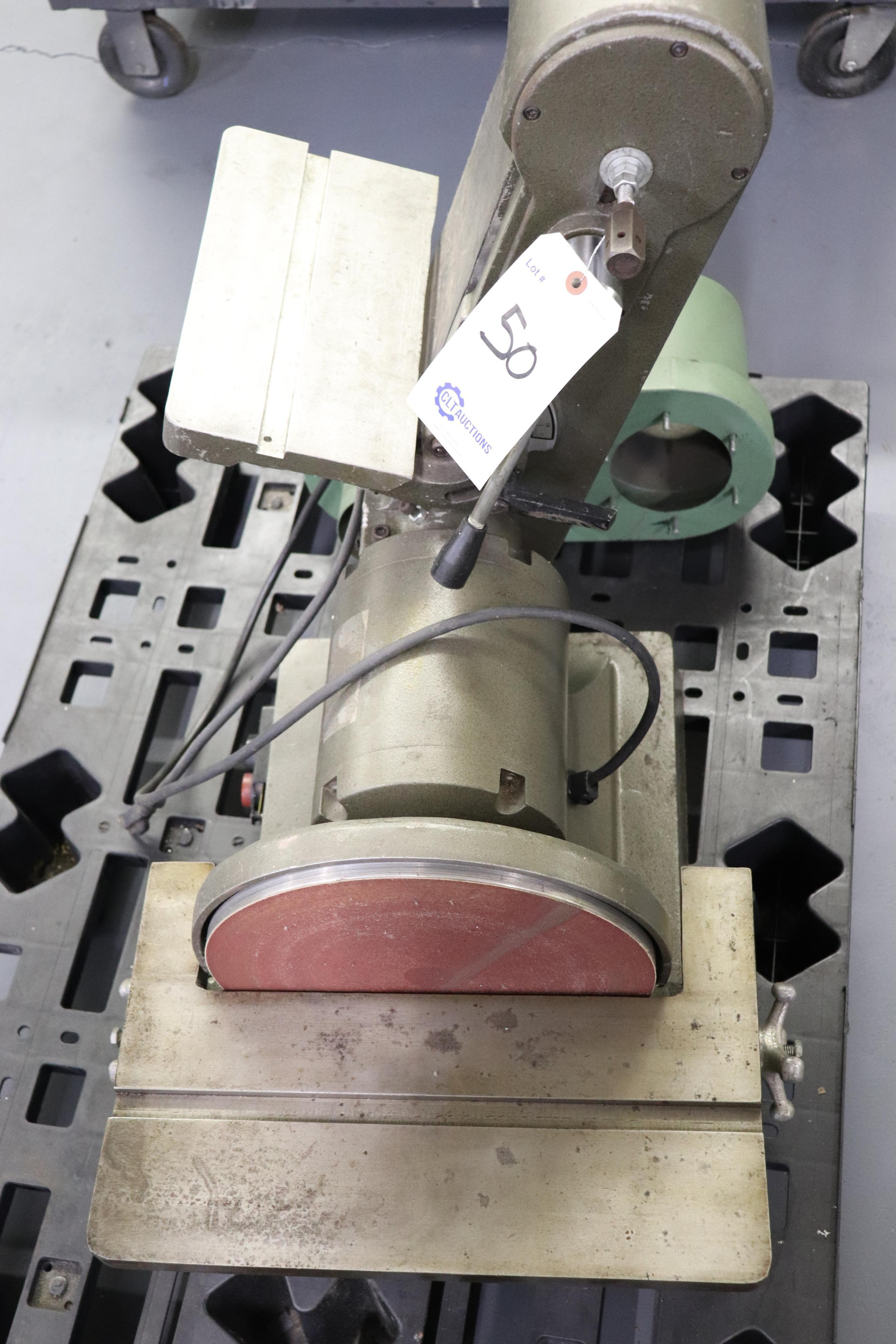 "12"" disc & 6"" belt sander, 1ph - Image 3 of 3"
