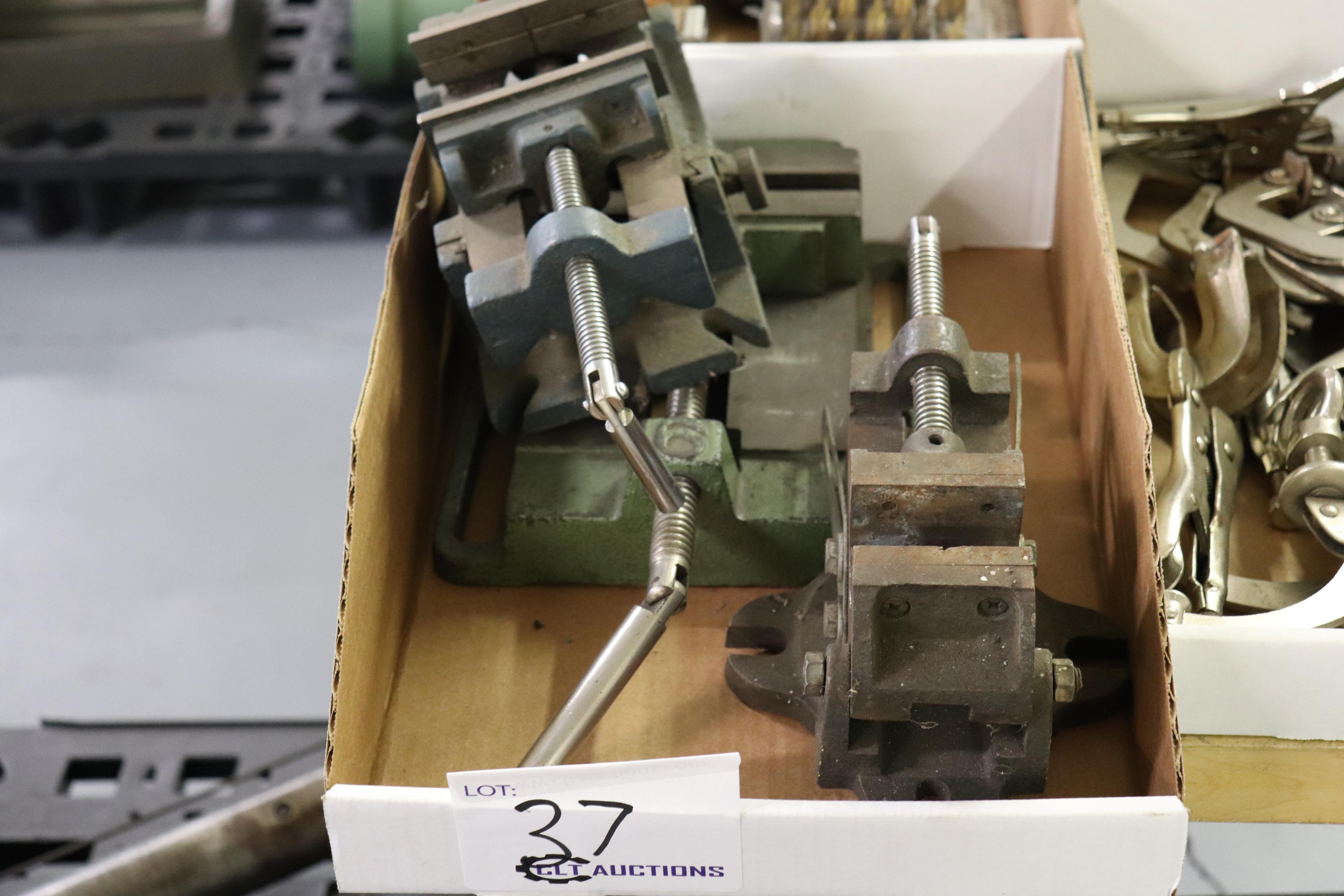 Drill press vises