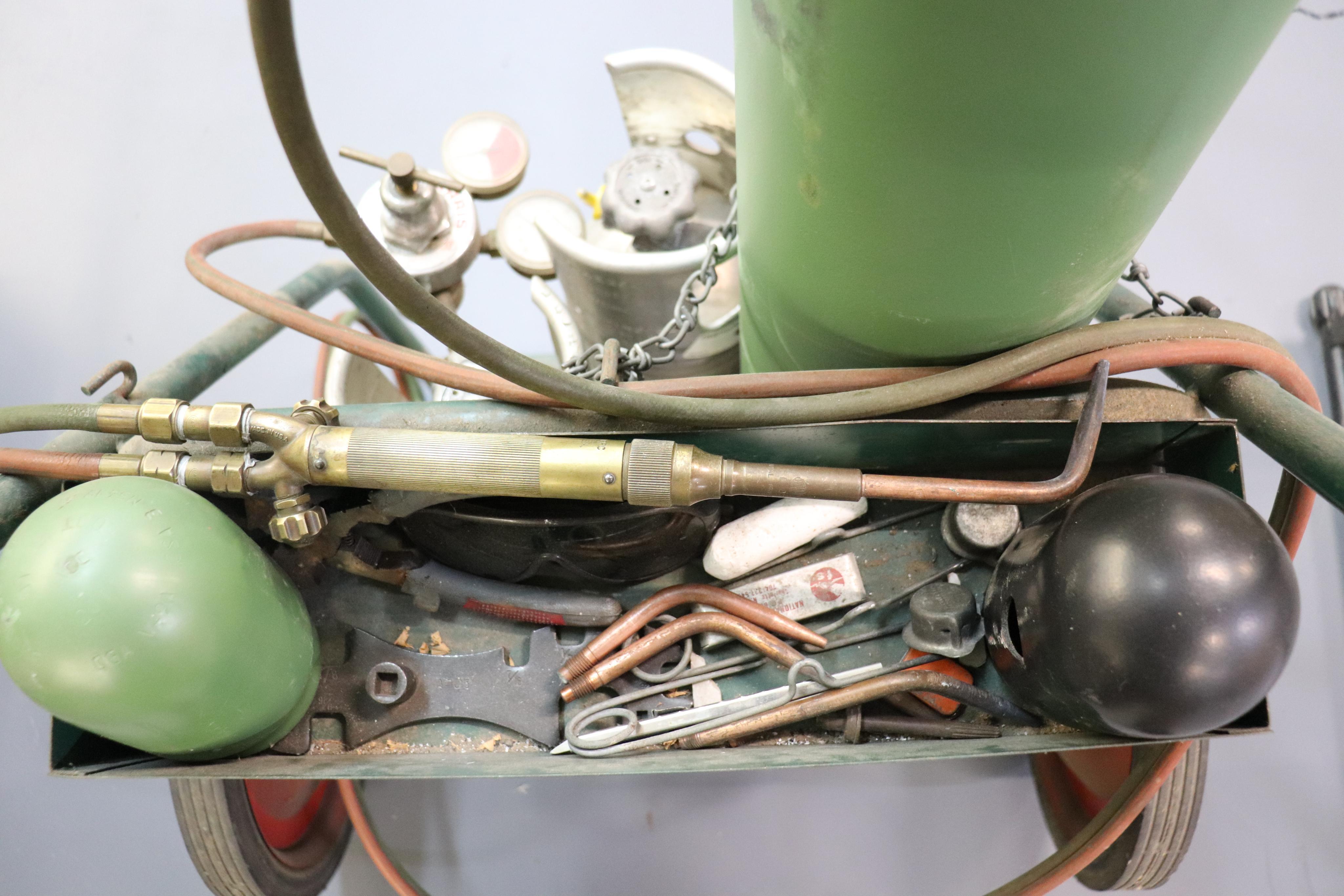 Braising torch & cart - Image 3 of 3