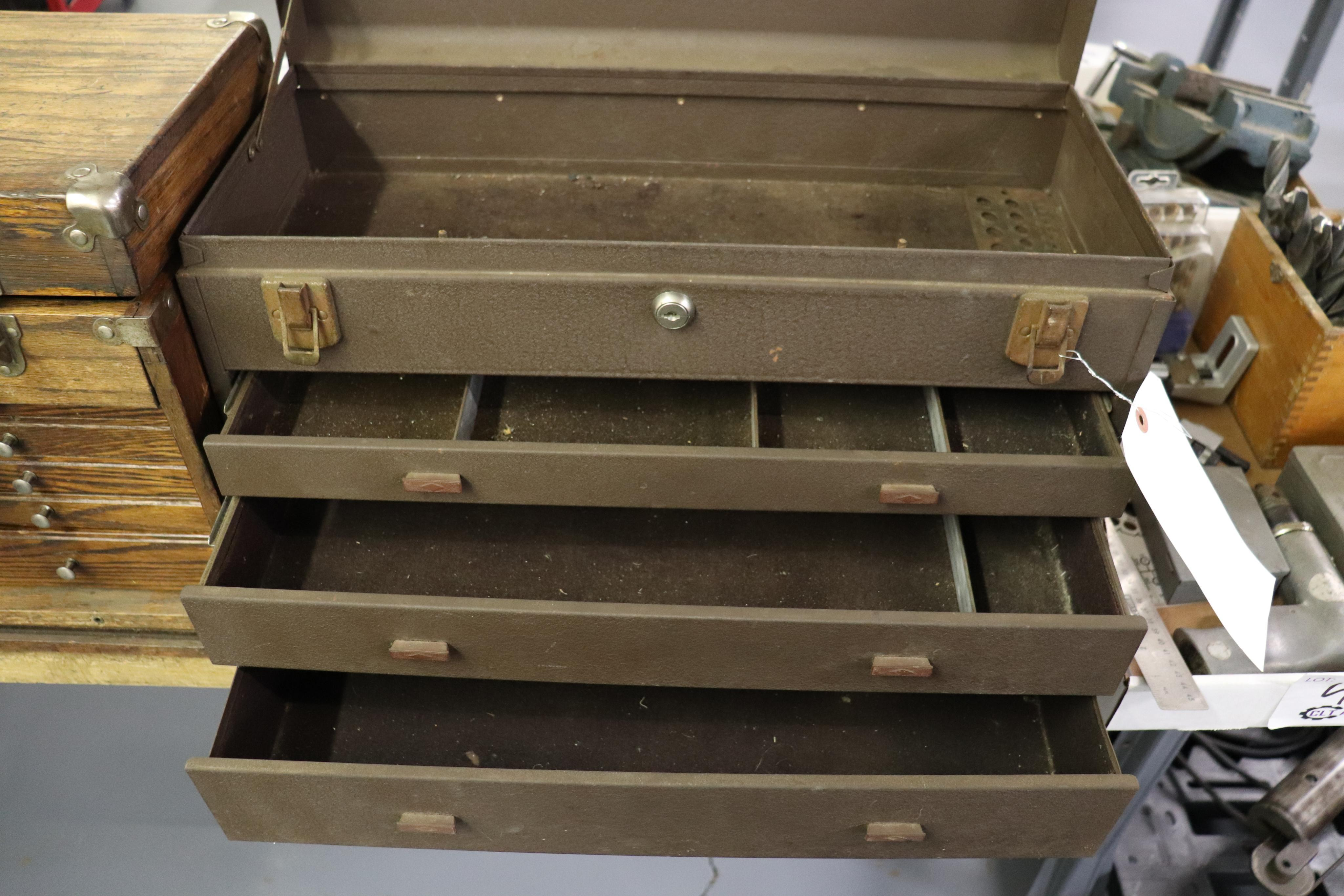 Kennedy 3 drawer tool box - Image 2 of 2