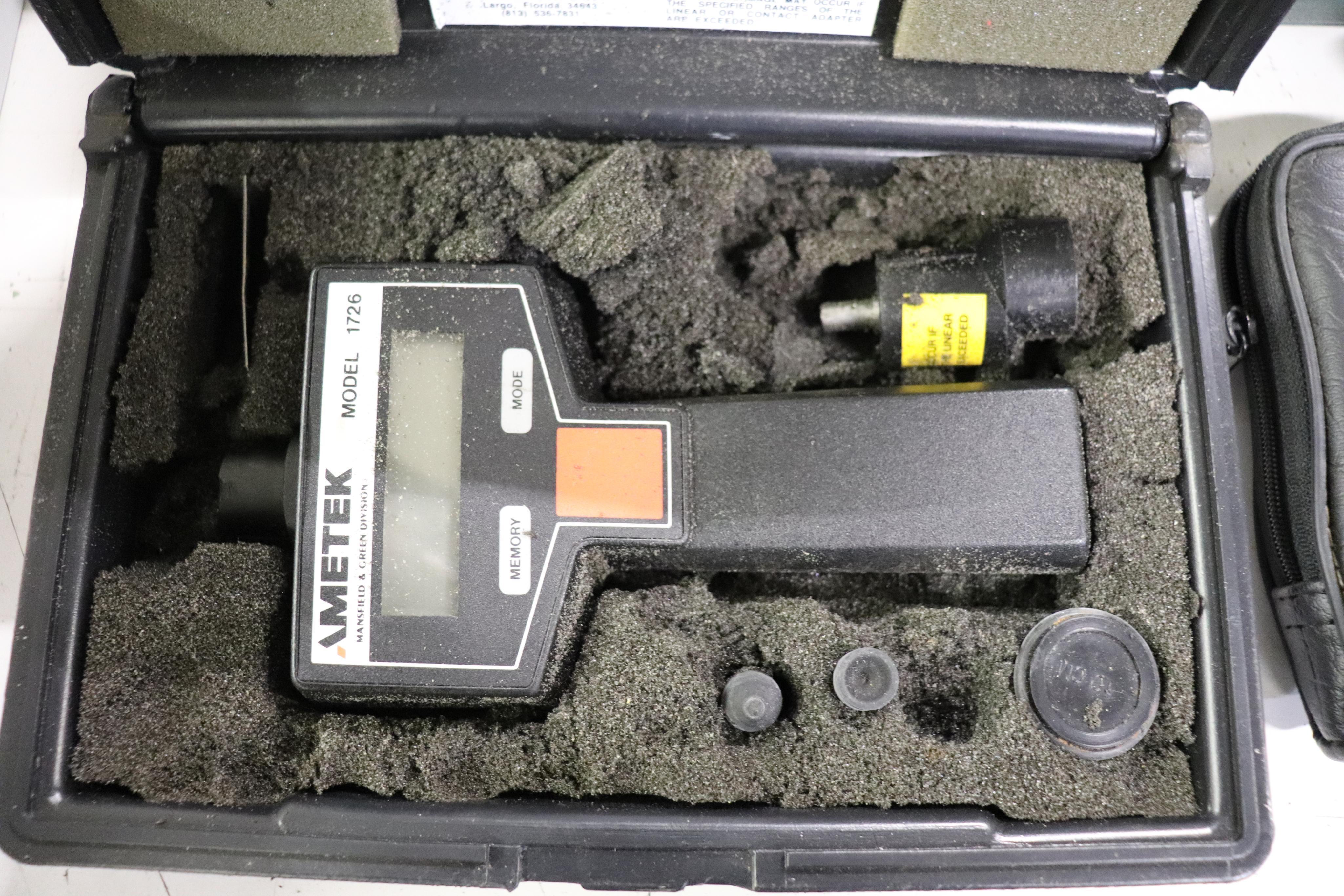 Velometer, digital Tachometer & Sound Level meter - Image 4 of 5