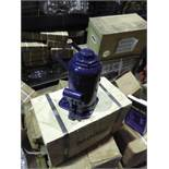 1 X 50T Bottle Jack. Min Height 256mm Lifting Height 160mm.
